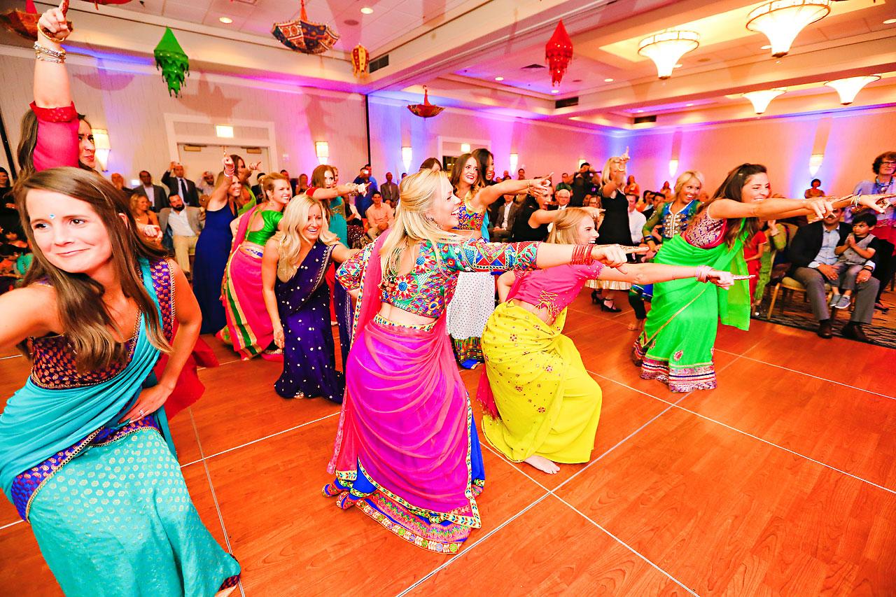 nina ryan indian wedding sangeet 186