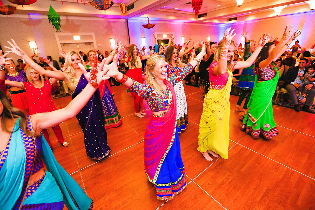 nina ryan indian wedding sangeet 182