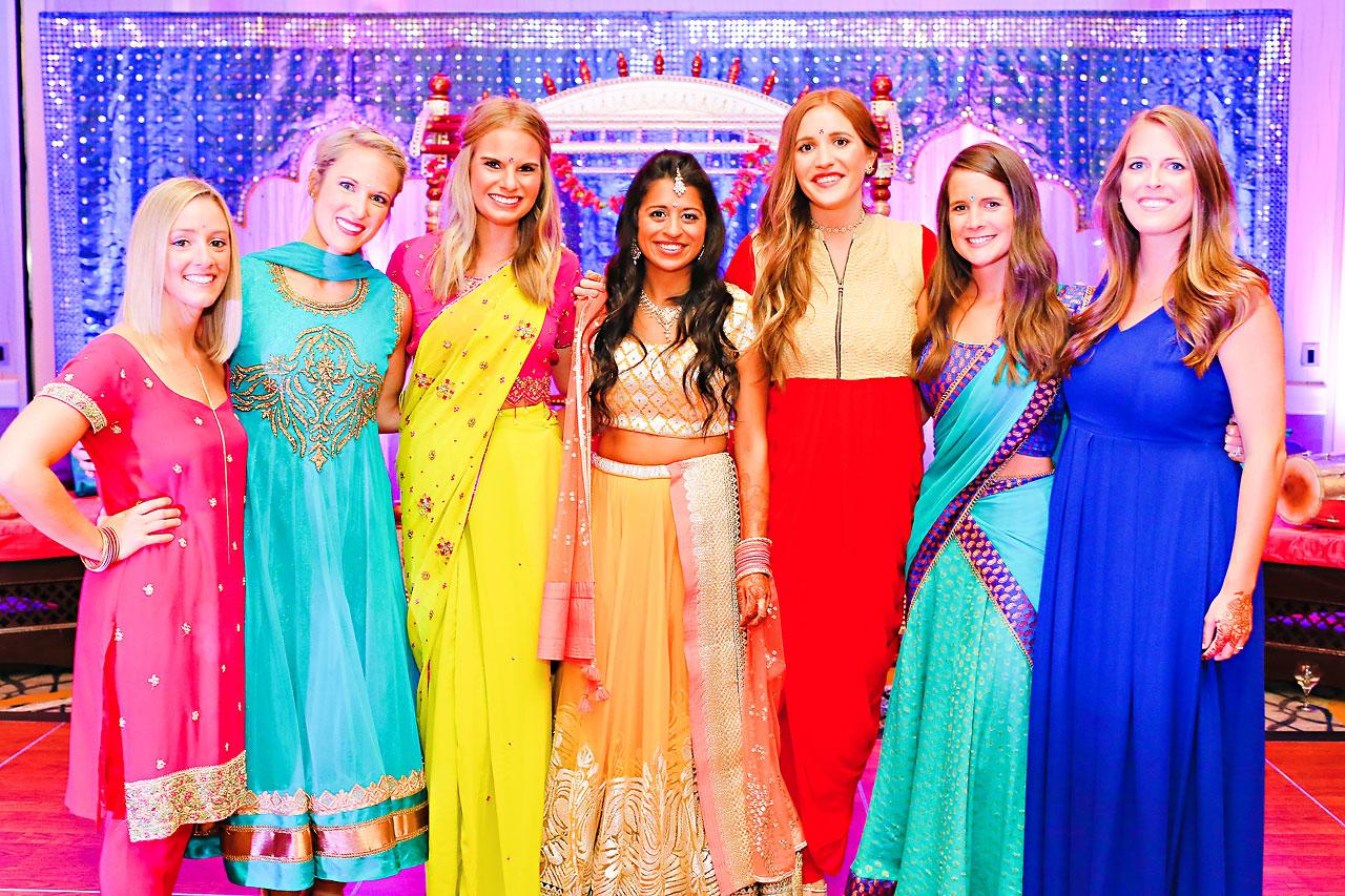 nina ryan indian wedding sangeet 133