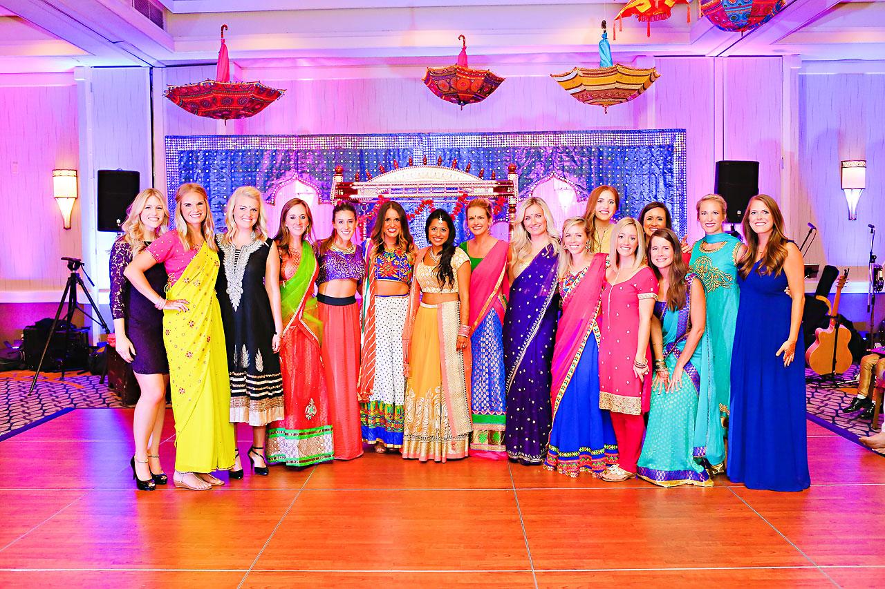nina ryan indian wedding sangeet 126
