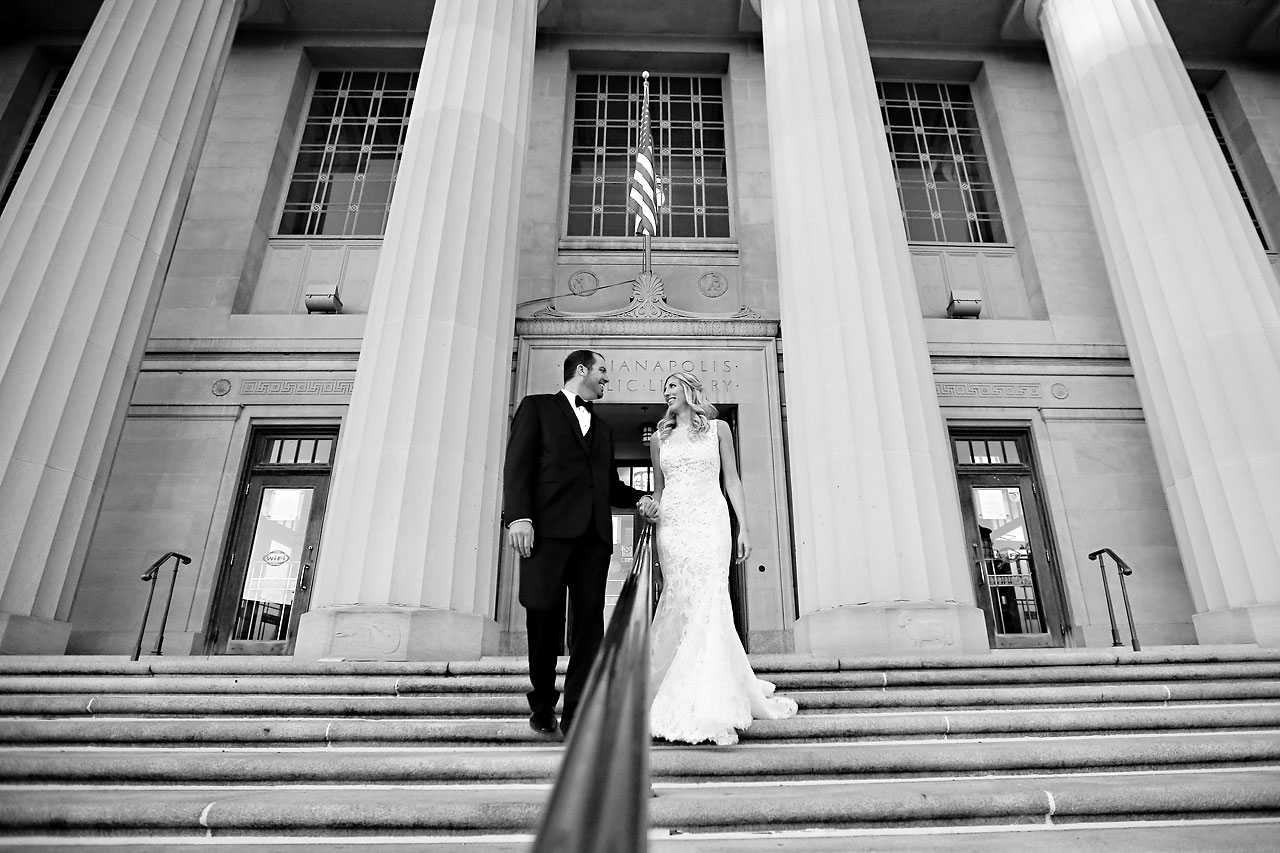 abby nick indianapolis central library wedding 205