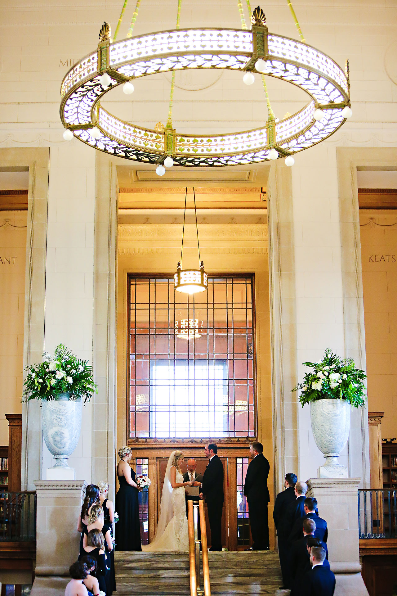 abby nick indianapolis central library wedding 200