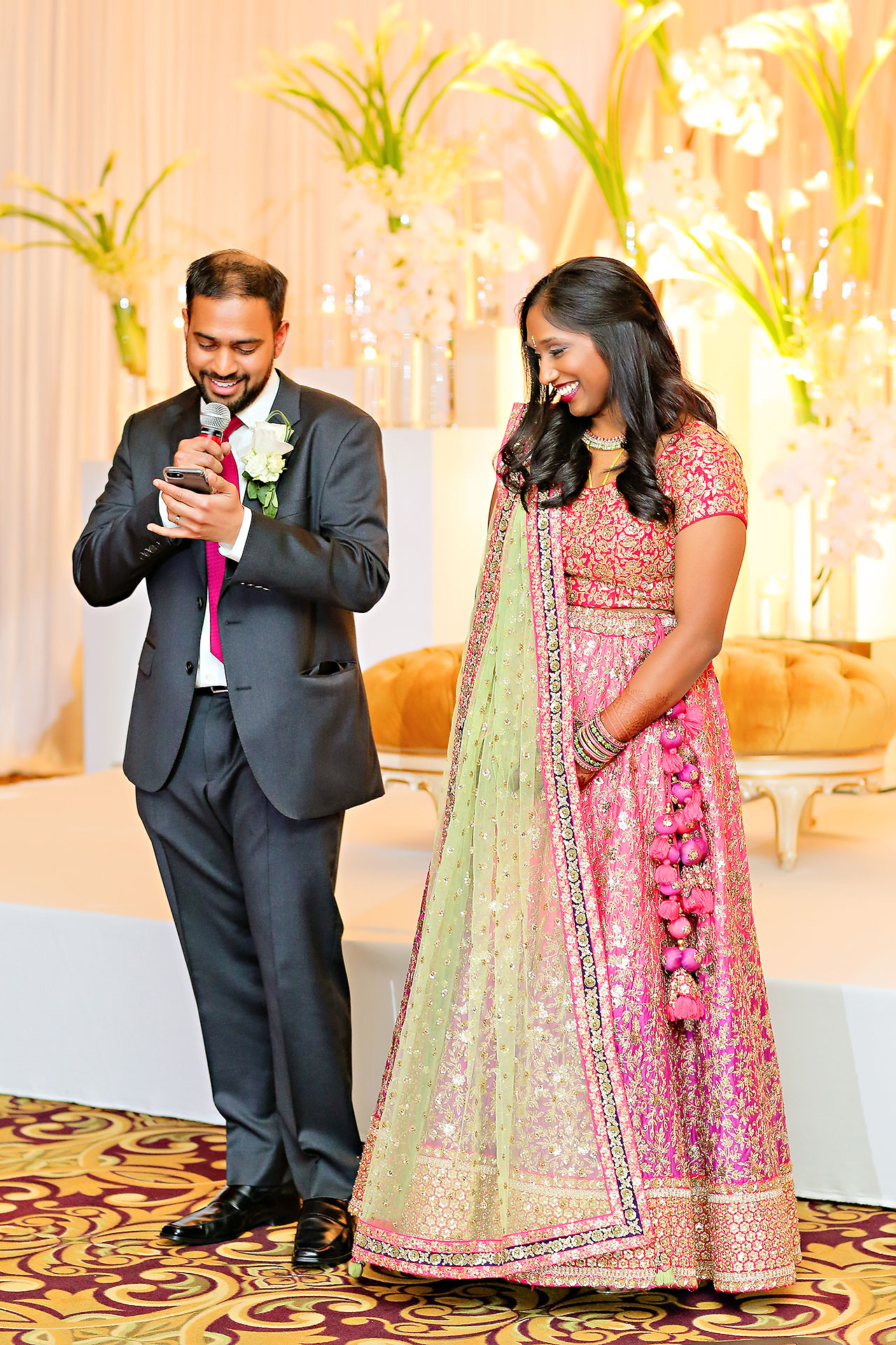 Anu Paras Indianapolis Indian Wedding Reception 136