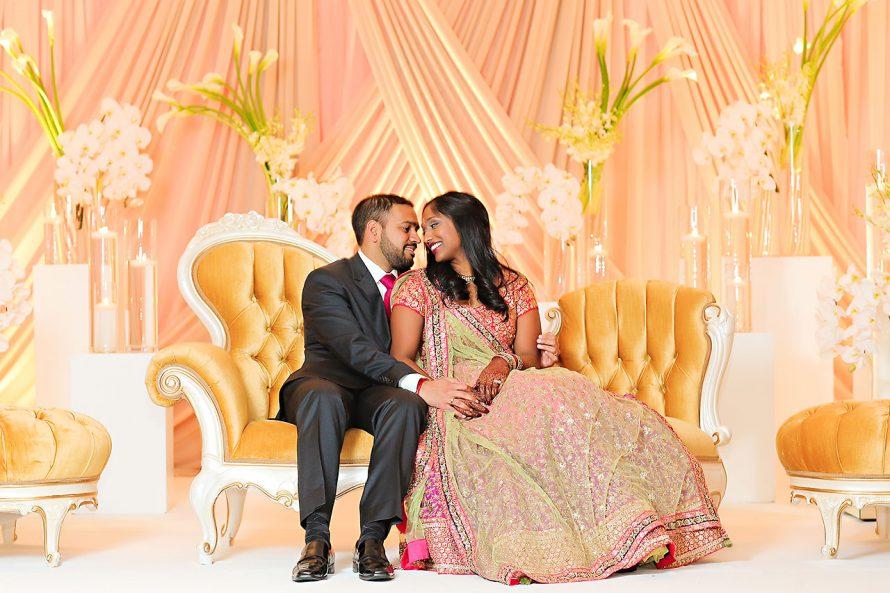 Anu Paras Indianapolis Indian Wedding Reception