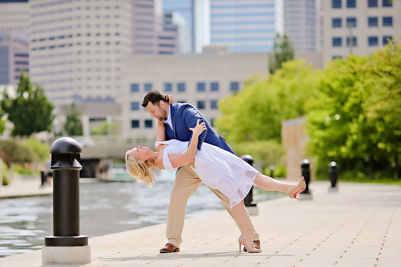 Chelsea Tom Downtown Indianapolis Engagement Session 117