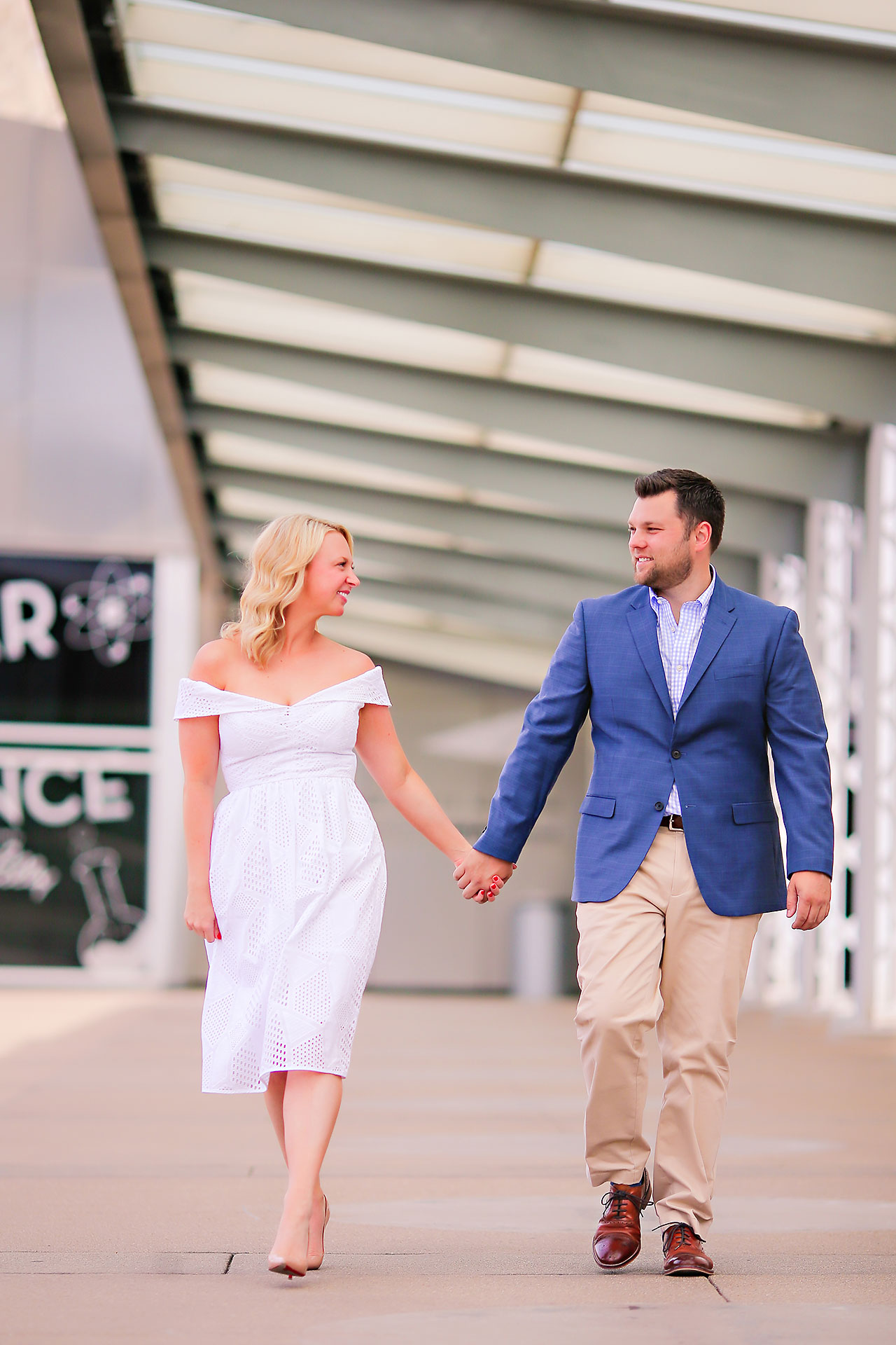Chelsea Tom Downtown Indianapolis Engagement Session 119