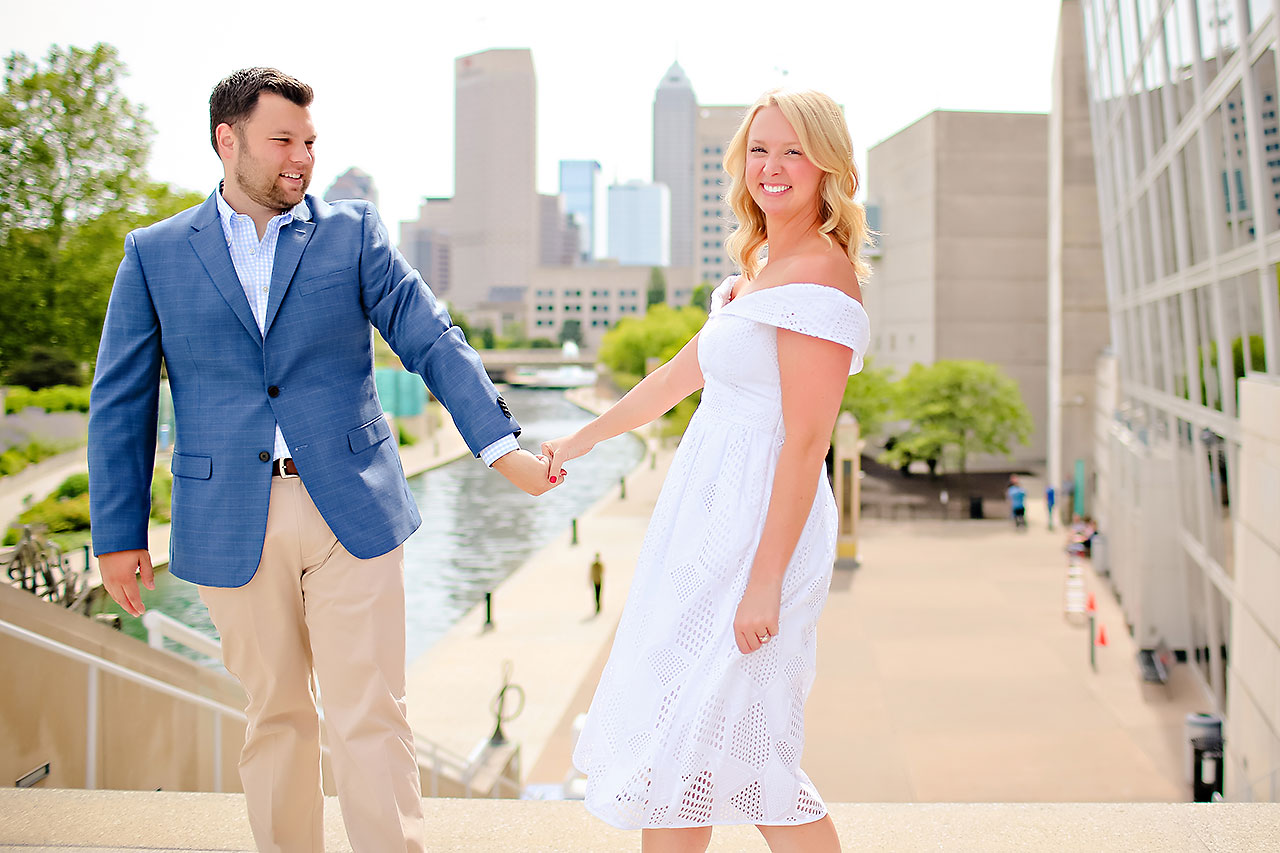 Chelsea Tom Downtown Indianapolis Engagement Session 115