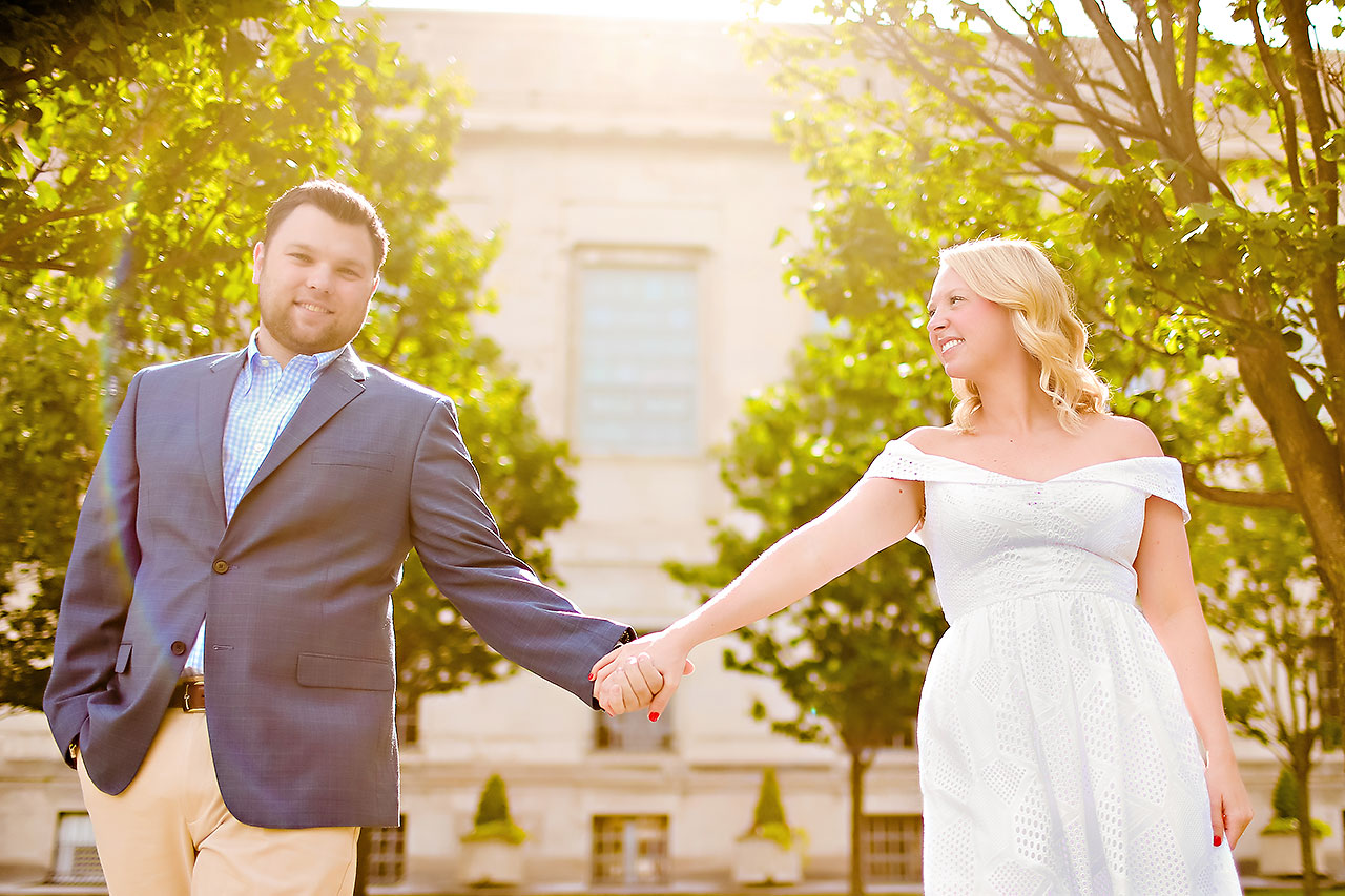 Chelsea Tom Downtown Indianapolis Engagement Session 113