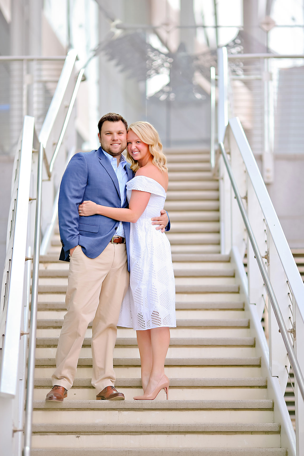 Chelsea Tom Downtown Indianapolis Engagement Session 109