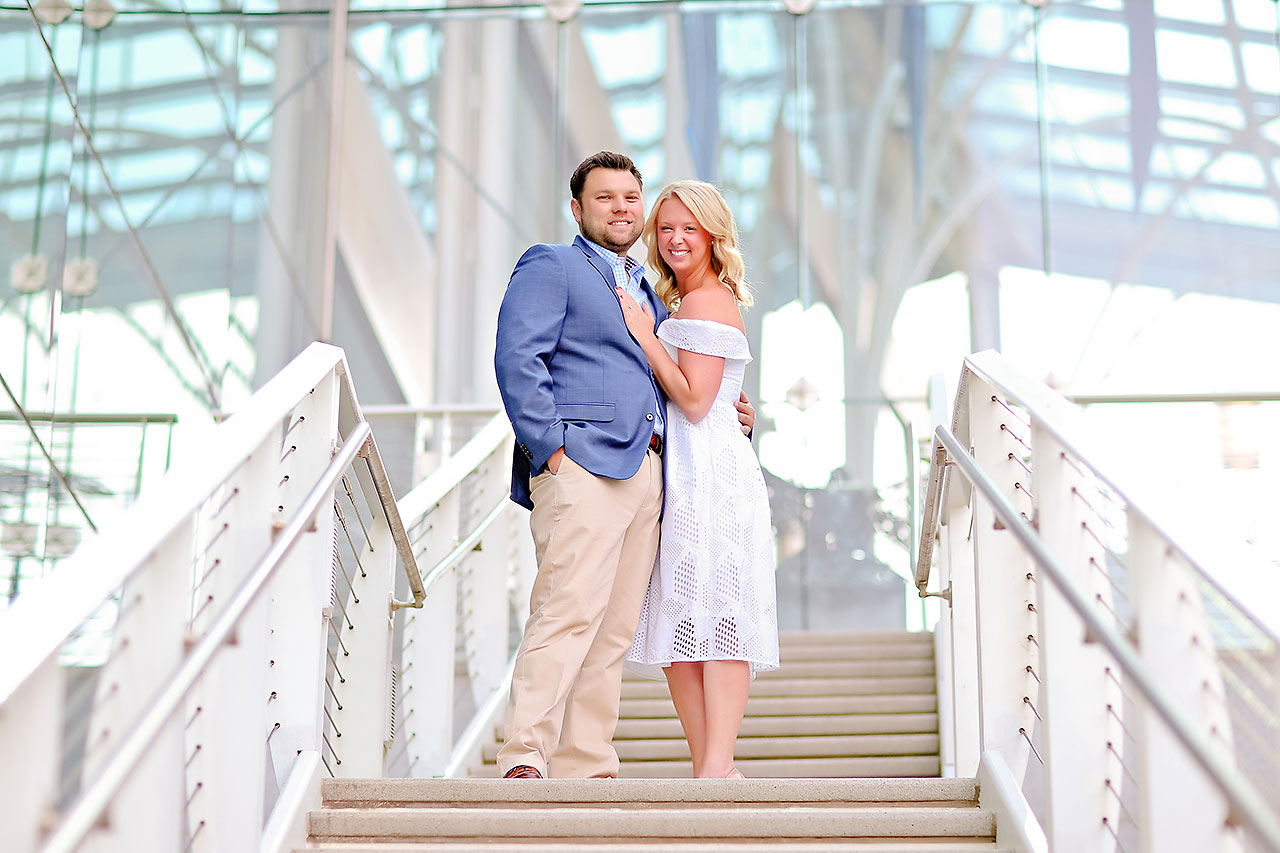 Chelsea Tom Downtown Indianapolis Engagement Session 097