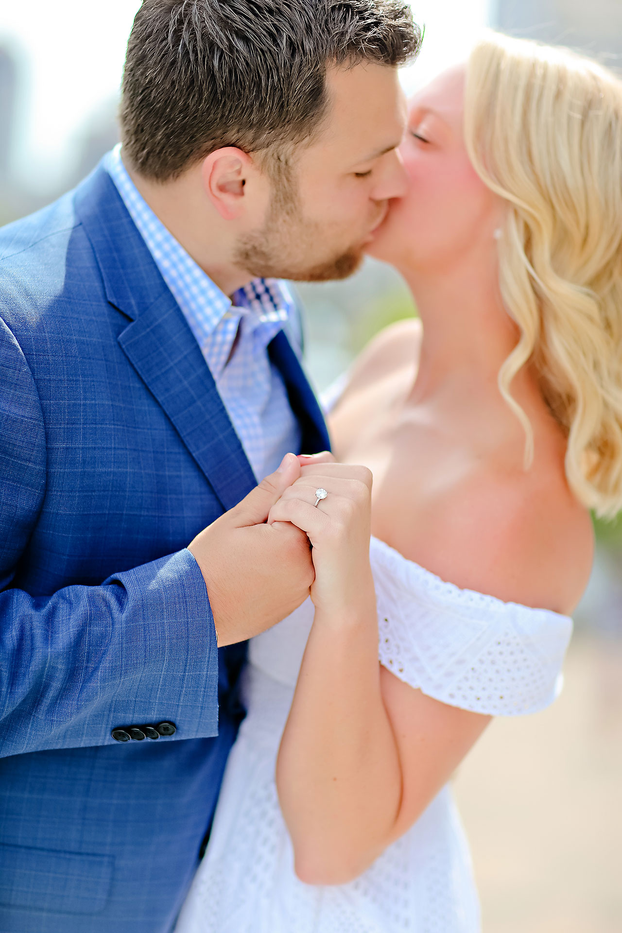 Chelsea Tom Downtown Indianapolis Engagement Session 092