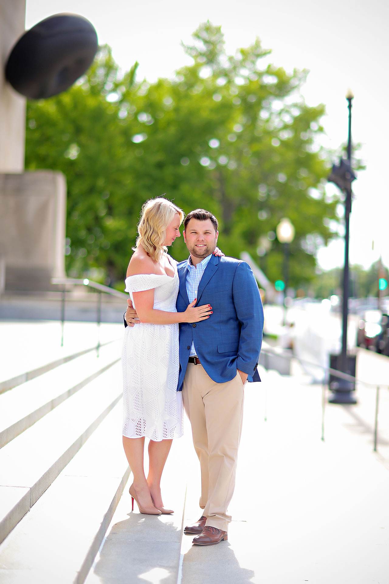 Chelsea Tom Downtown Indianapolis Engagement Session 076
