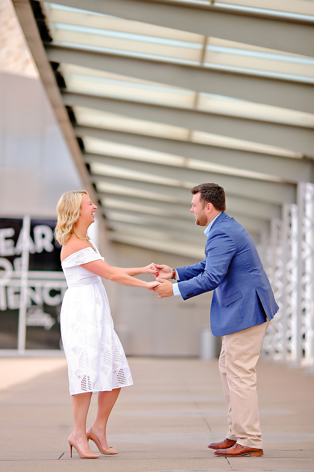 Chelsea Tom Downtown Indianapolis Engagement Session 077