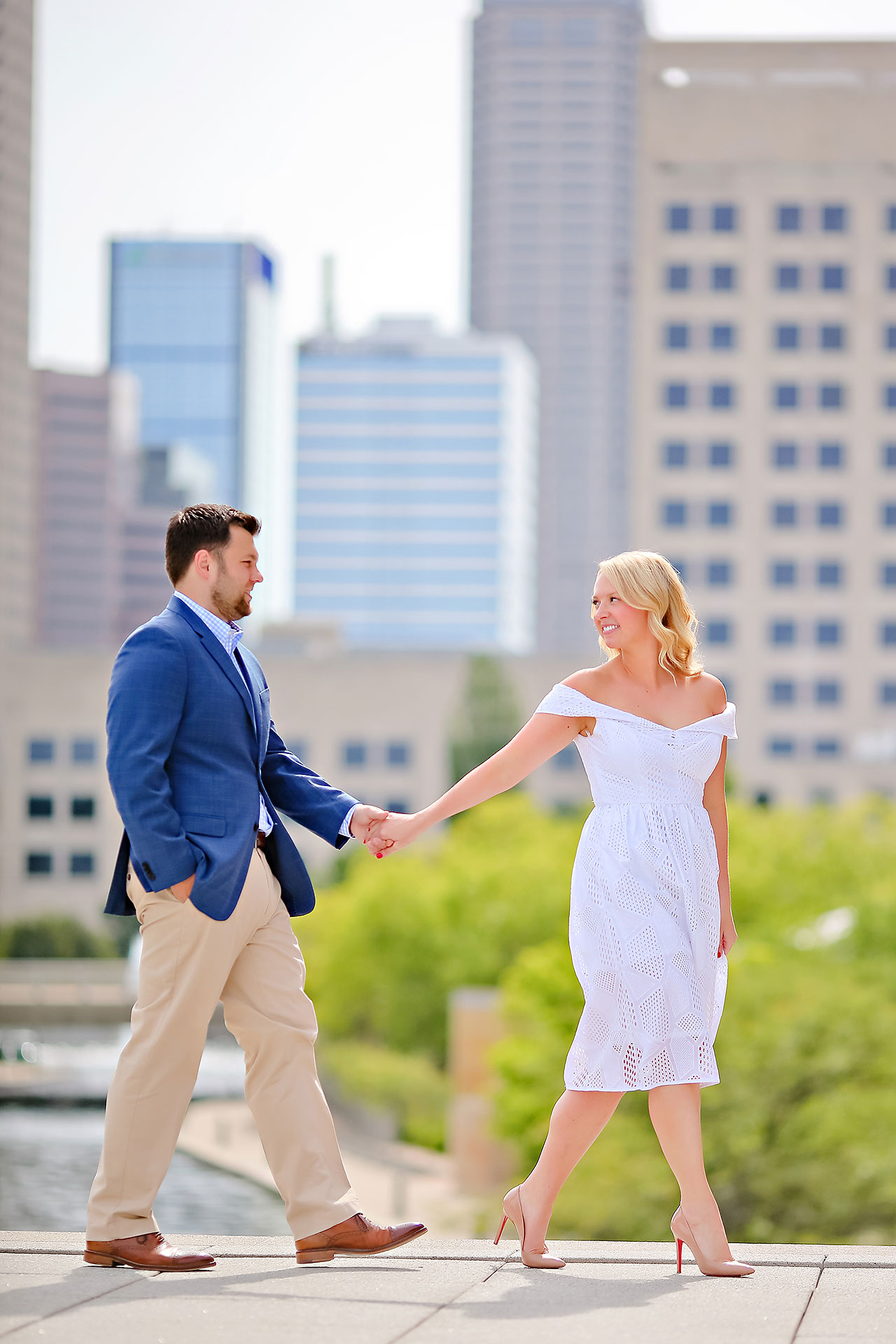 Chelsea Tom Downtown Indianapolis Engagement Session 074