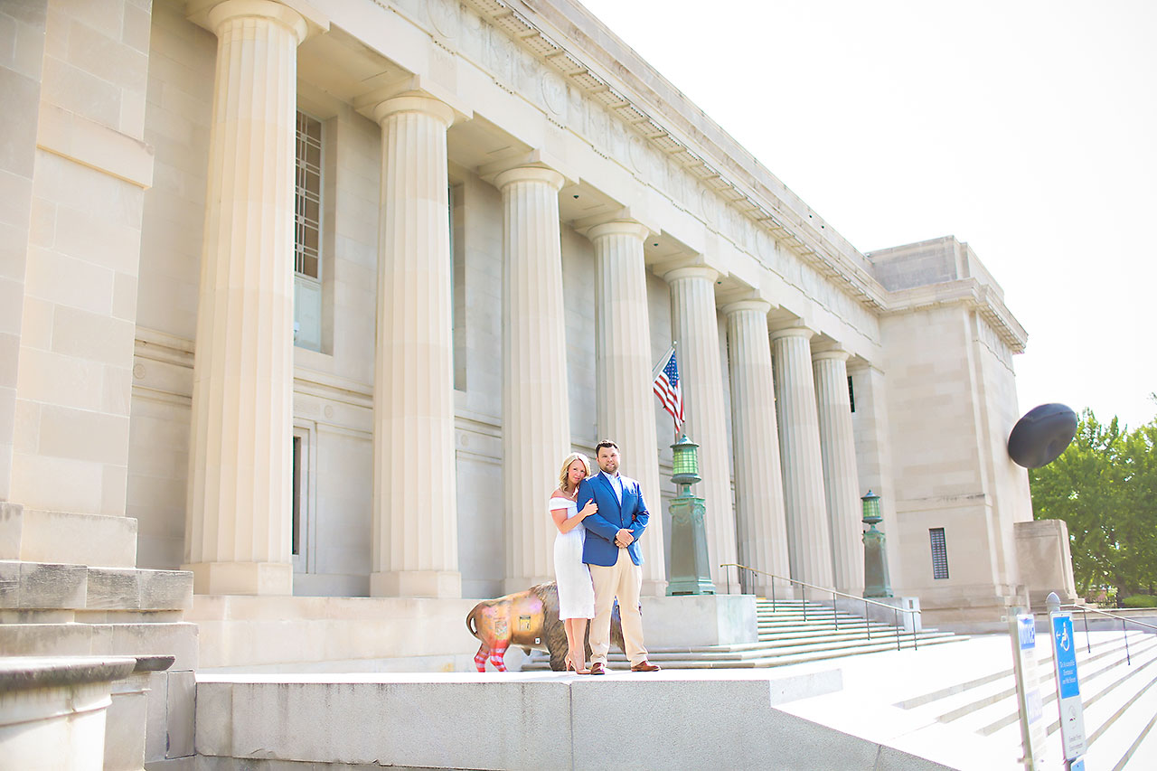 Chelsea Tom Downtown Indianapolis Engagement Session 068