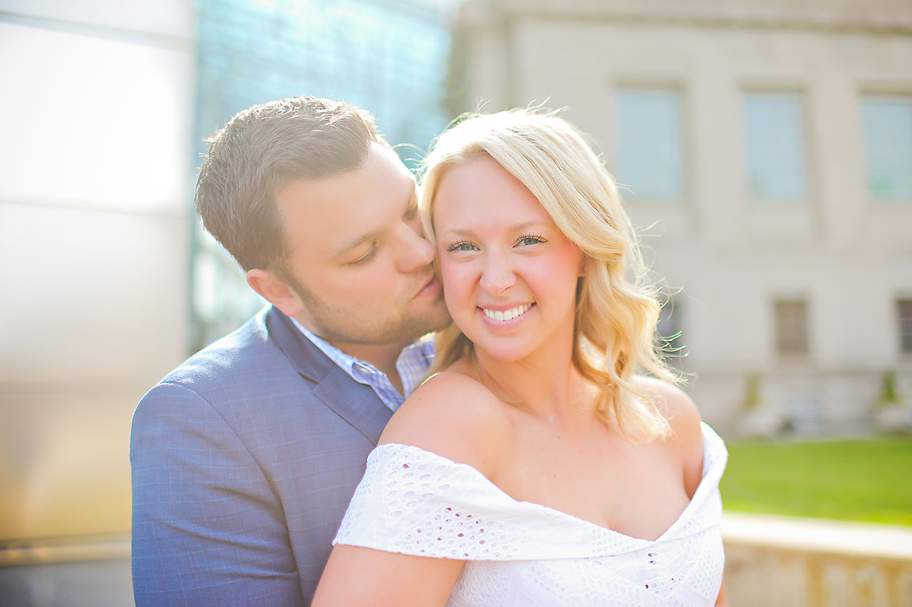 Chelsea Tom Downtown Indianapolis Engagement Session 067