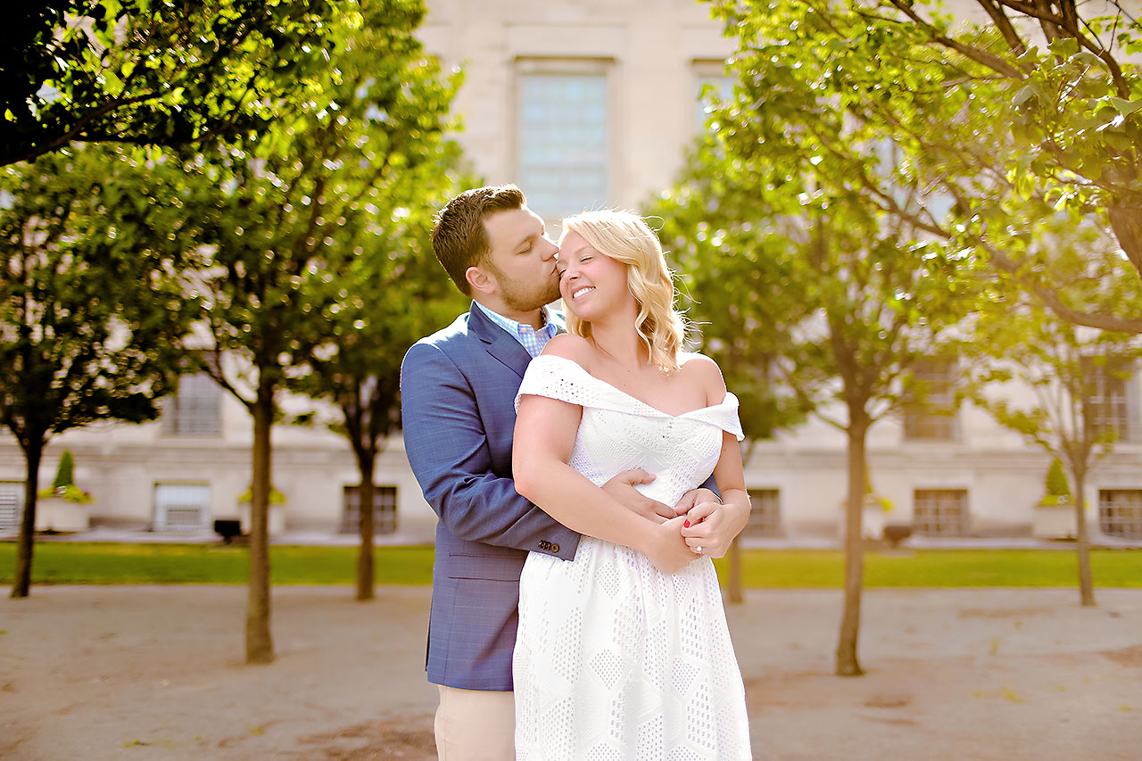 Chelsea Tom Downtown Indianapolis Engagement Session 066