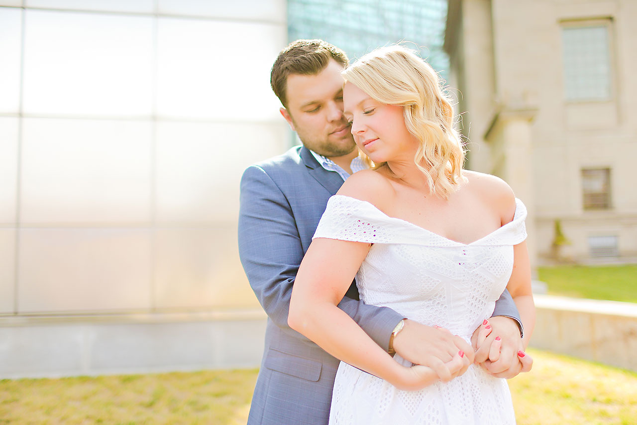 Chelsea Tom Downtown Indianapolis Engagement Session 064