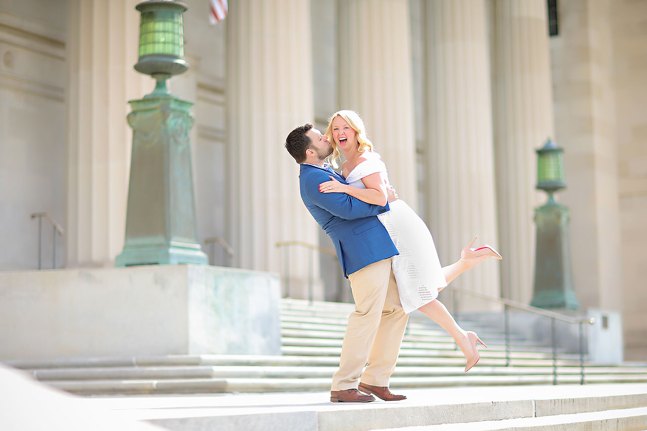 Chelsea Tom Downtown Indianapolis Engagement Session 052
