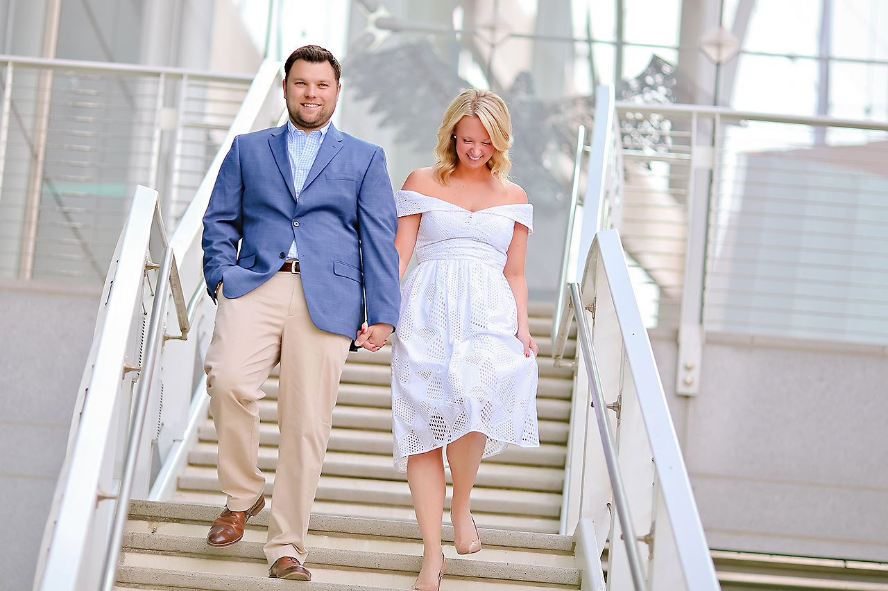 Chelsea Tom Downtown Indianapolis Engagement Session 050
