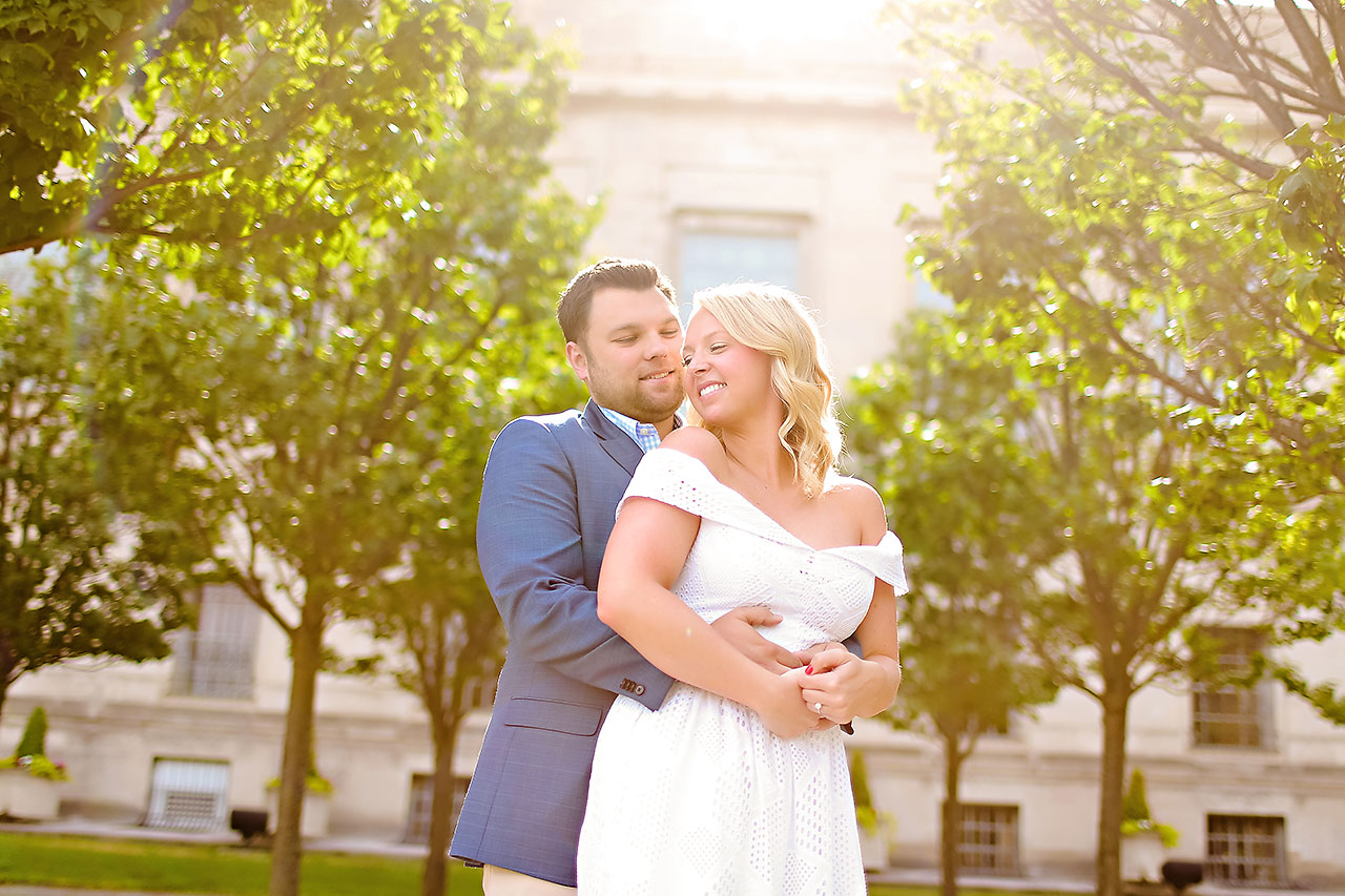 Chelsea Tom Downtown Indianapolis Engagement Session 051