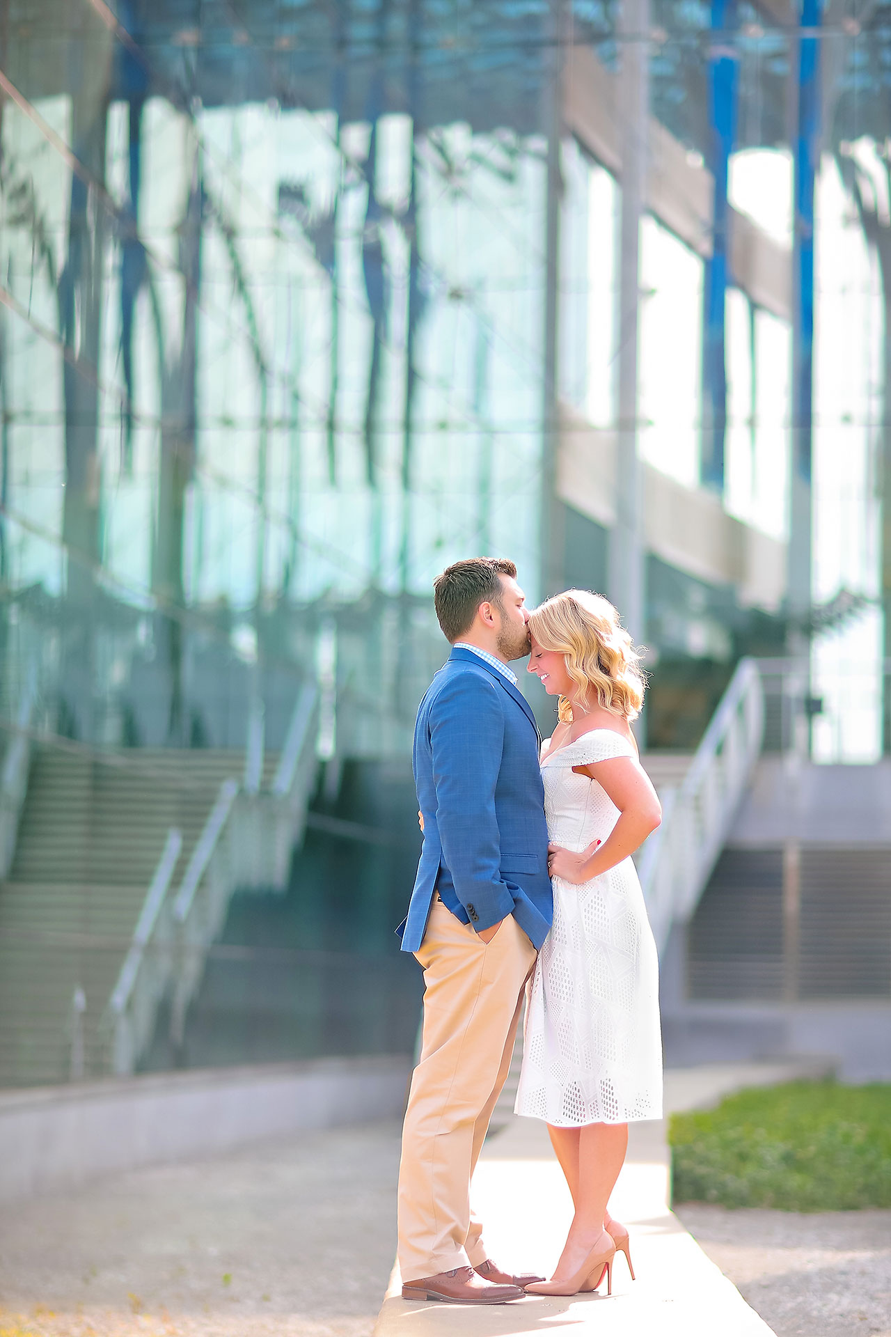 Chelsea Tom Downtown Indianapolis Engagement Session 047