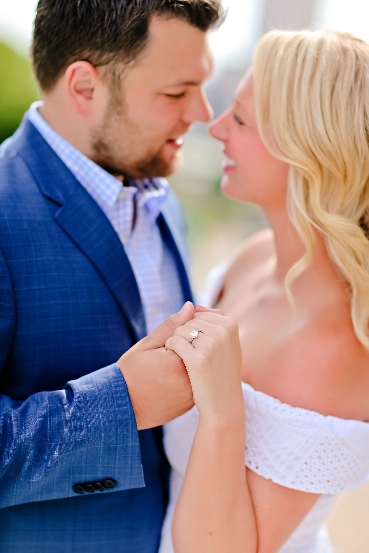 Chelsea Tom Downtown Indianapolis Engagement Session 044