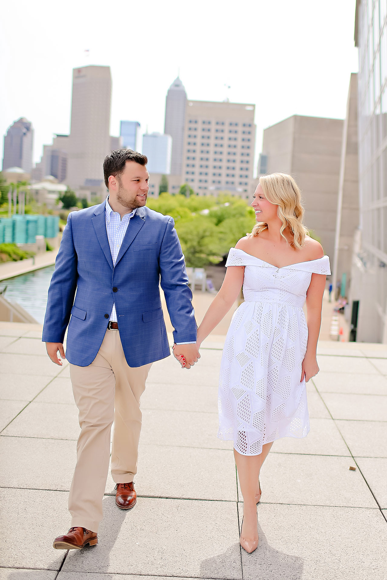Chelsea Tom Downtown Indianapolis Engagement Session 042