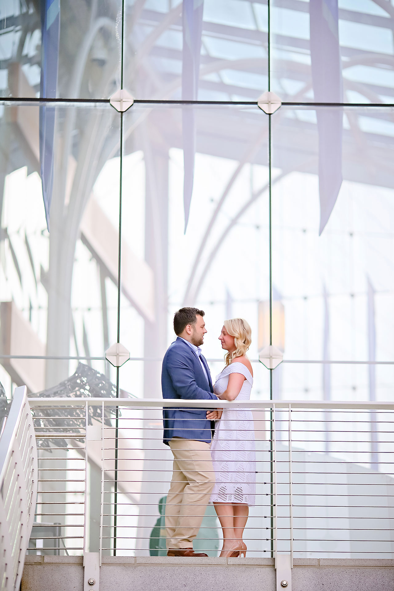 Chelsea Tom Downtown Indianapolis Engagement Session 041