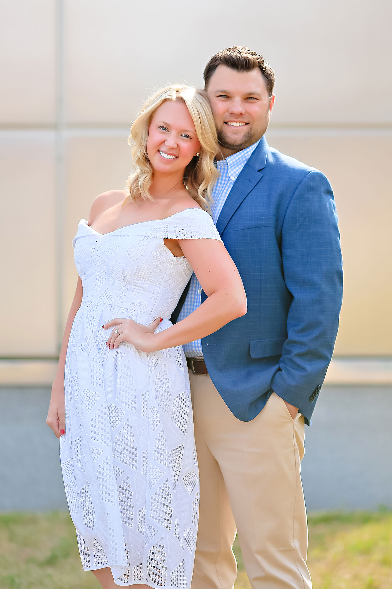 Chelsea Tom Downtown Indianapolis Engagement Session 039