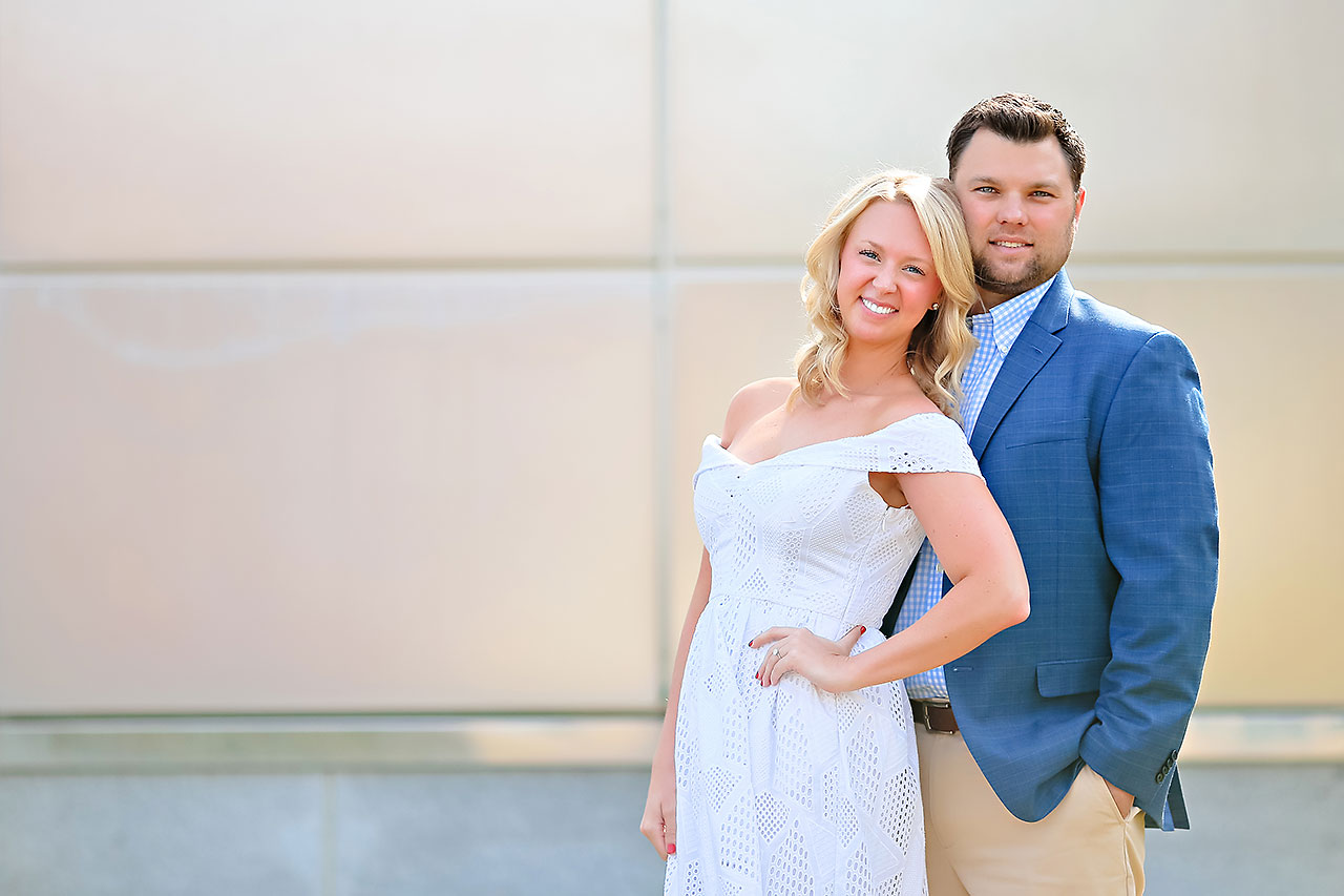 Chelsea Tom Downtown Indianapolis Engagement Session 032