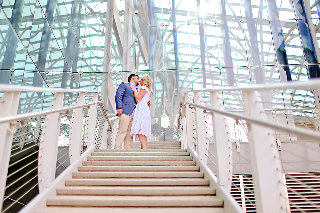 Chelsea Tom Downtown Indianapolis Engagement Session 033