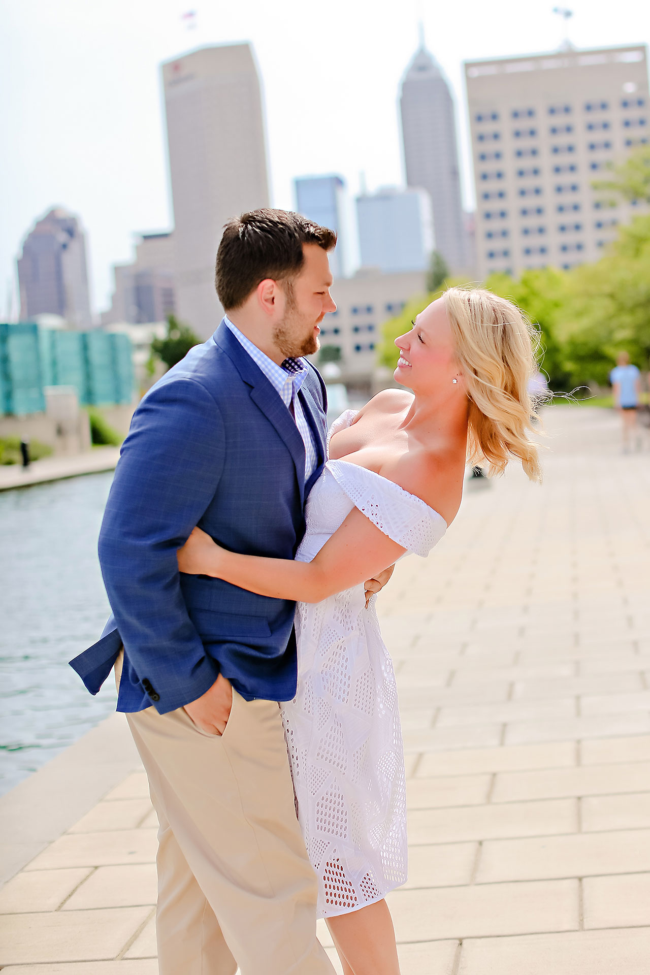 Chelsea Tom Downtown Indianapolis Engagement Session 031