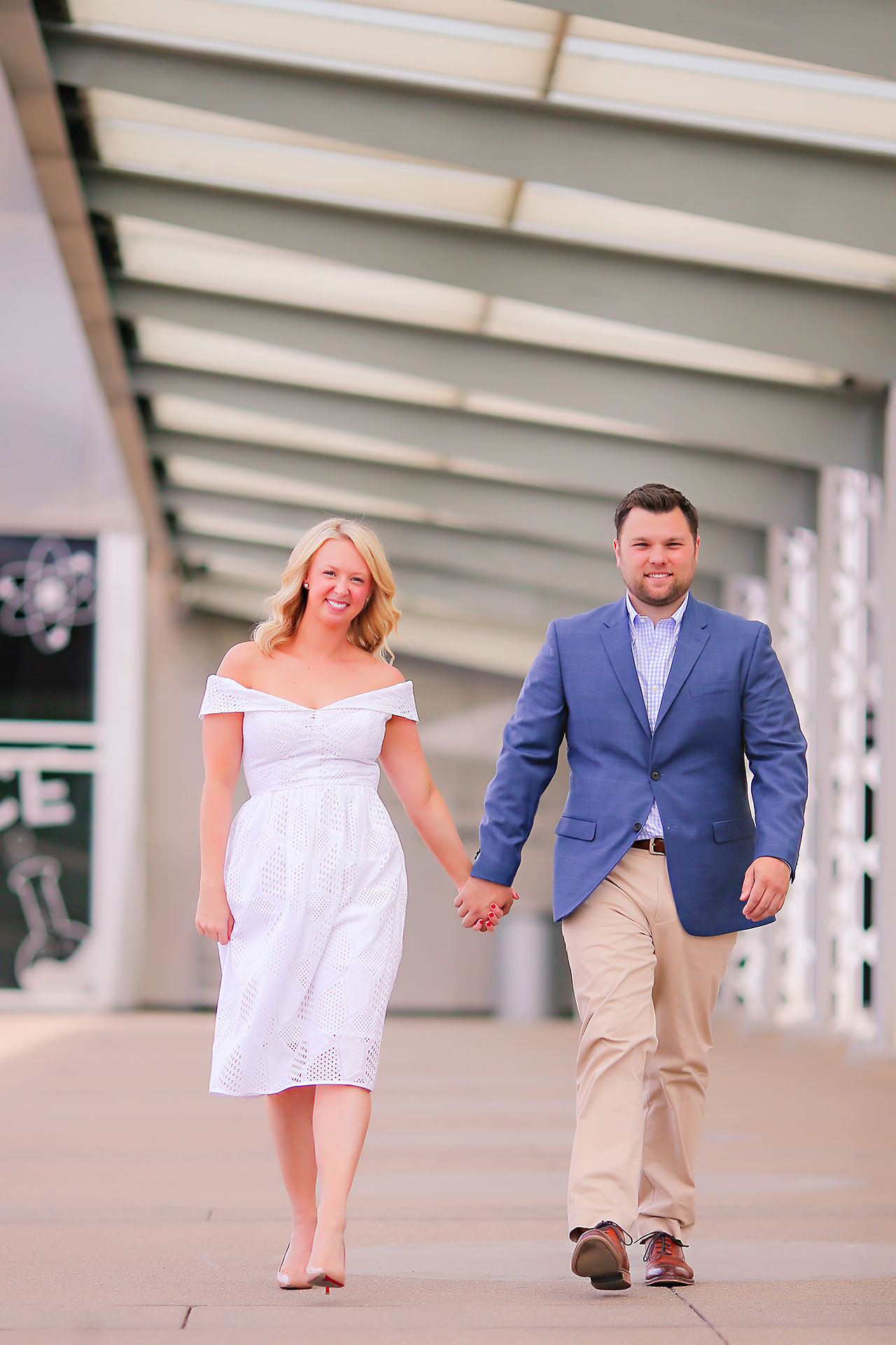 Chelsea Tom Downtown Indianapolis Engagement Session 027