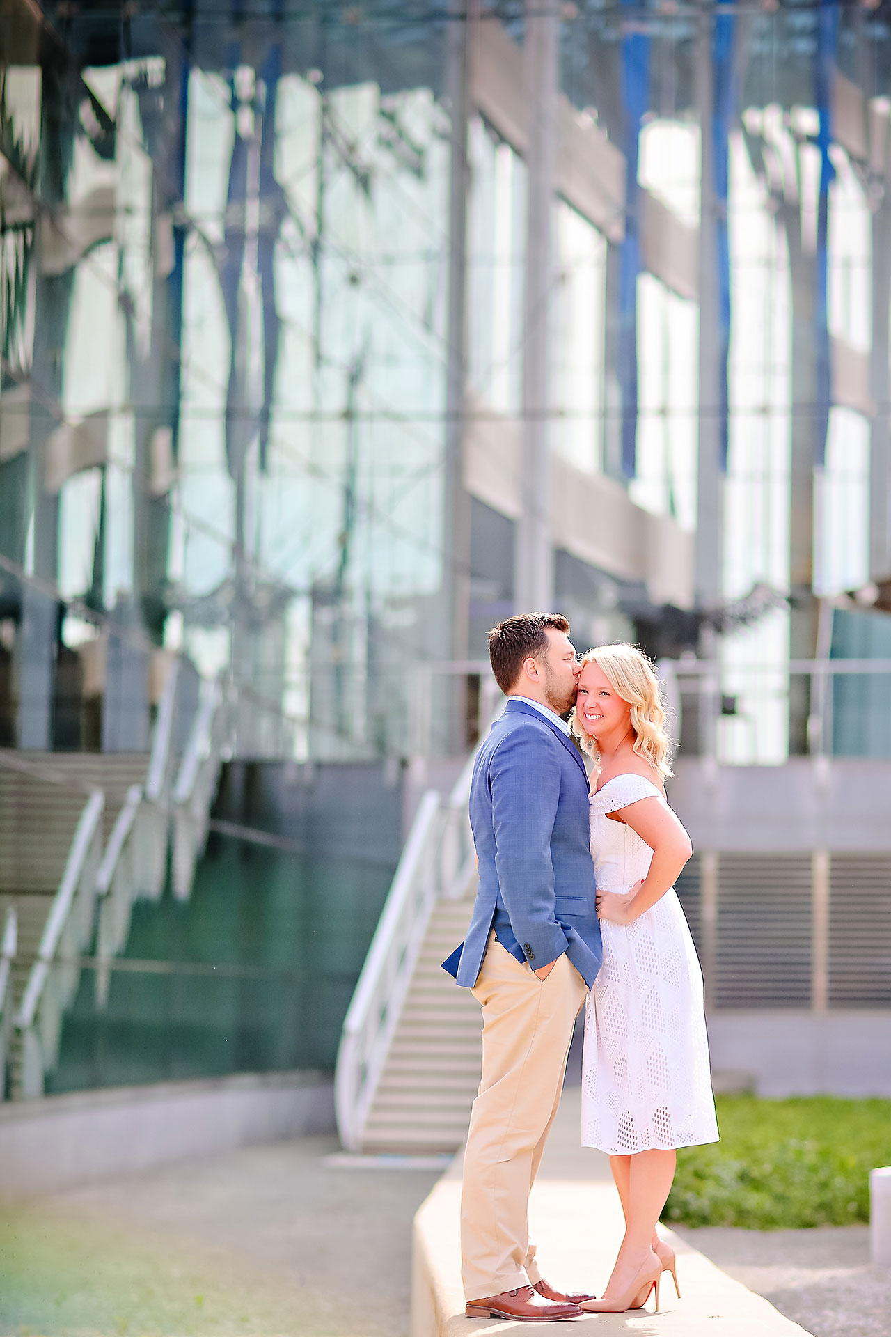 Chelsea Tom Downtown Indianapolis Engagement Session 022
