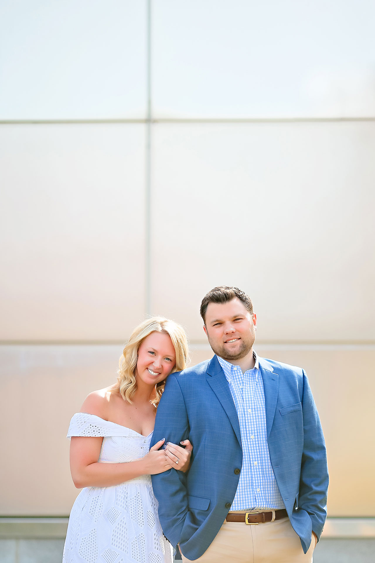 Chelsea Tom Downtown Indianapolis Engagement Session 023