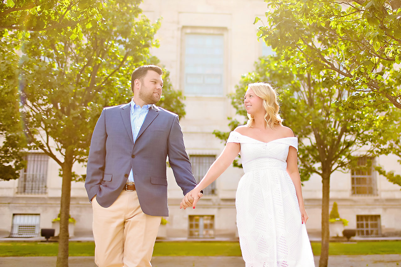 Chelsea Tom Downtown Indianapolis Engagement Session 020