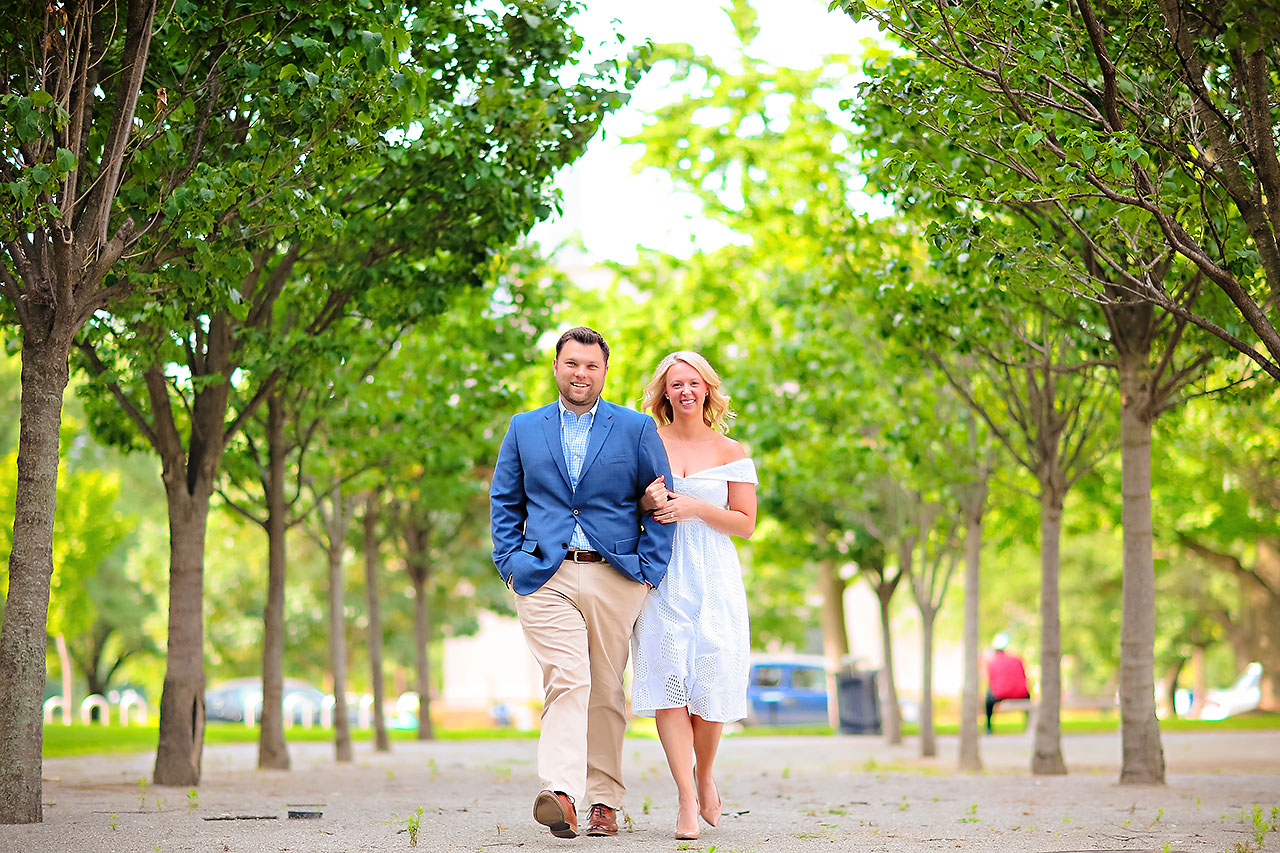 Chelsea Tom Downtown Indianapolis Engagement Session 015