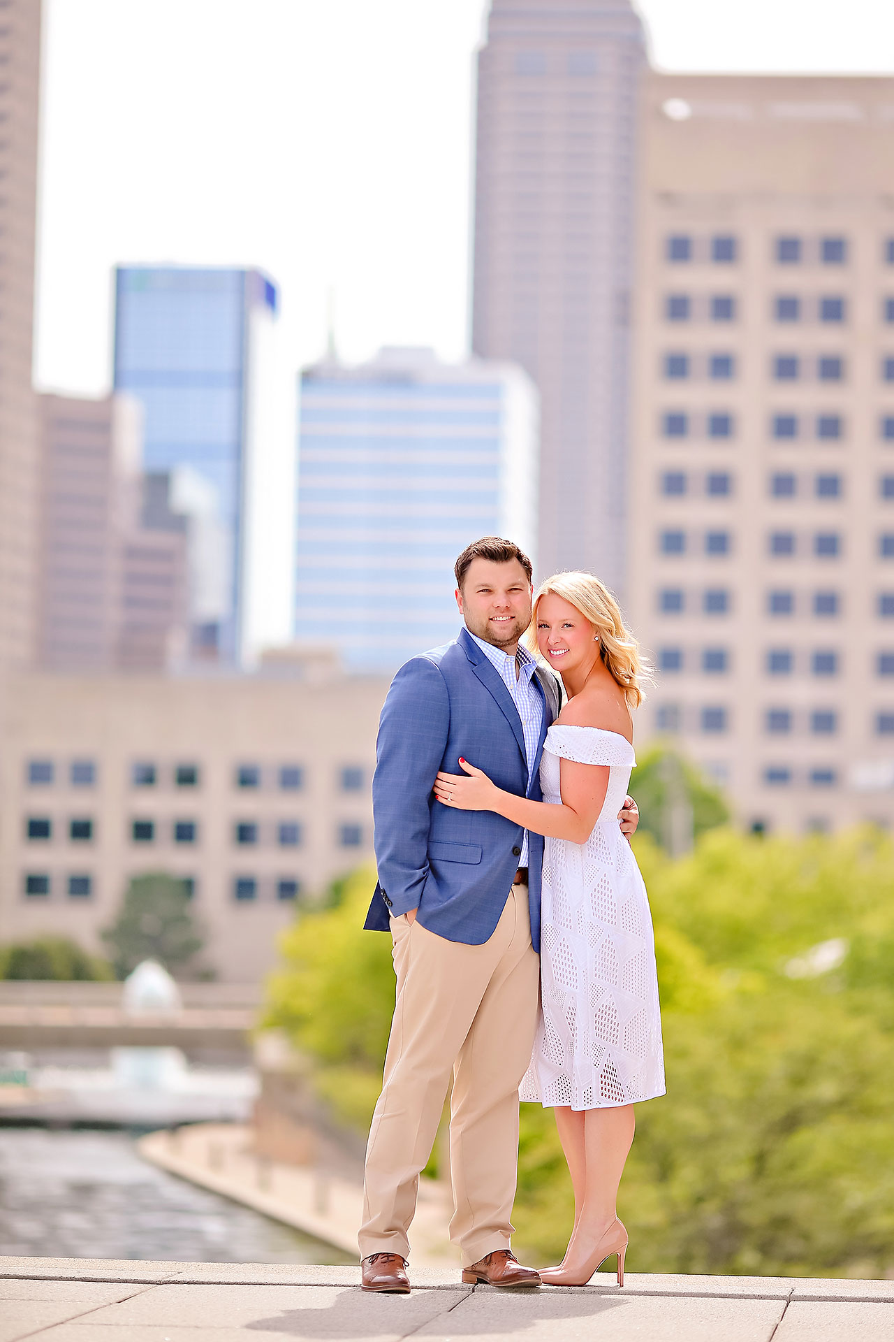 Chelsea Tom Downtown Indianapolis Engagement Session 011