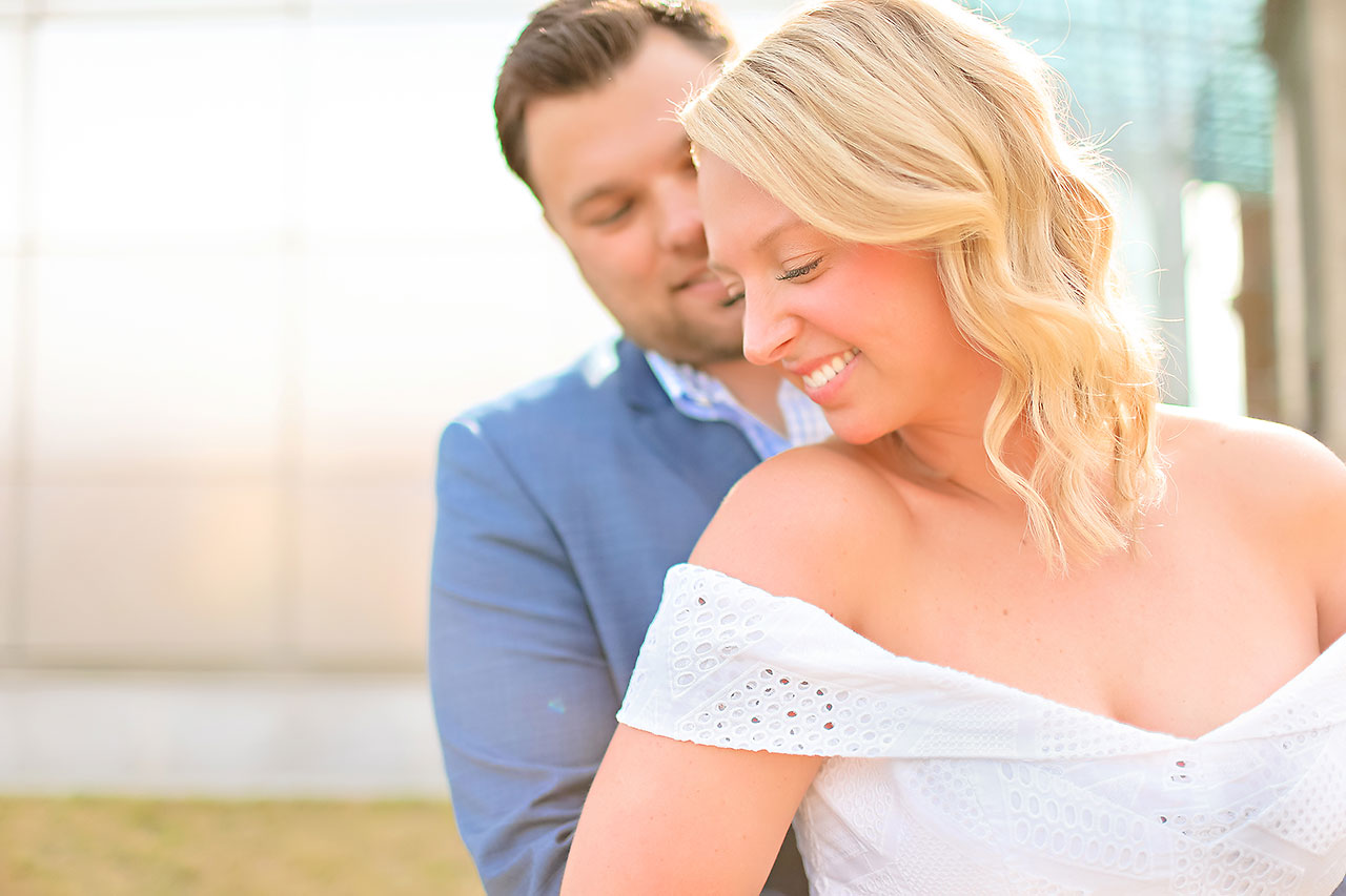 Chelsea Tom Downtown Indianapolis Engagement Session 014
