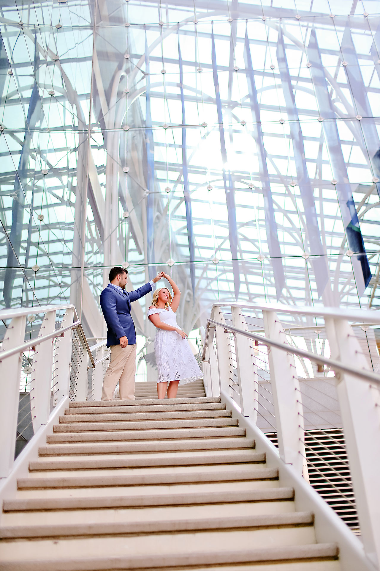 Chelsea Tom Downtown Indianapolis Engagement Session 005