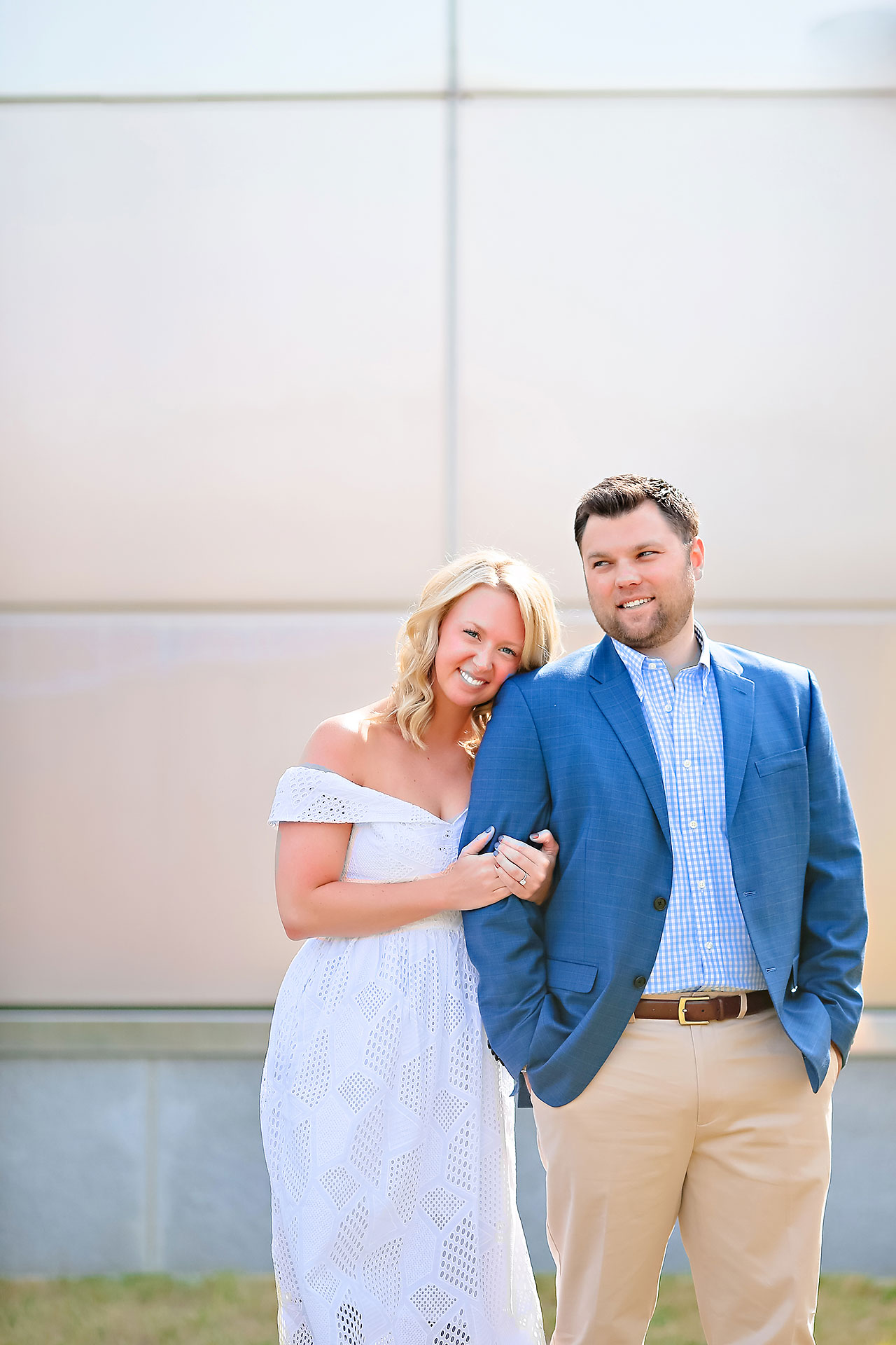 Chelsea Tom Downtown Indianapolis Engagement Session 006