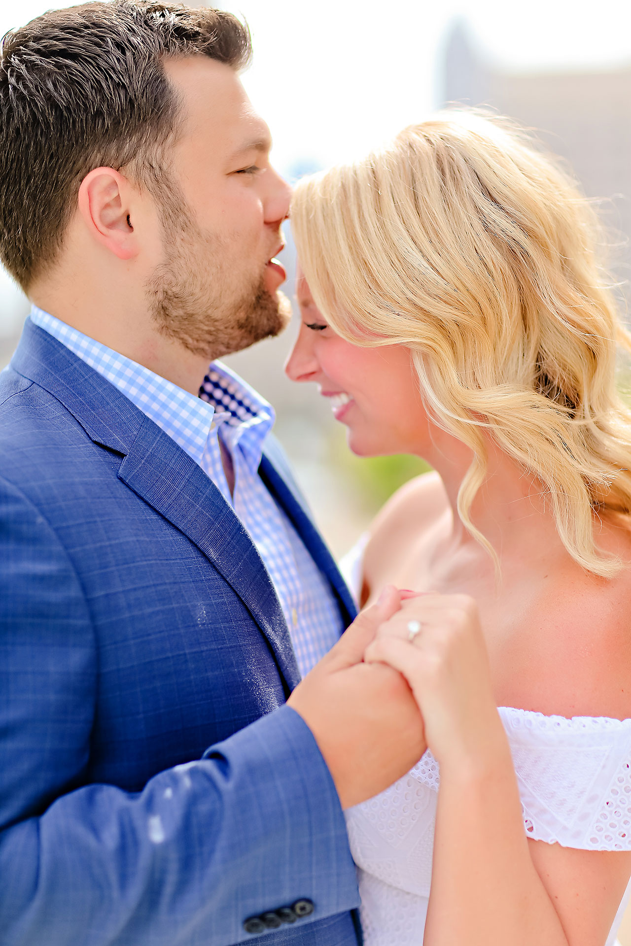 Chelsea Tom Downtown Indianapolis Engagement Session 002
