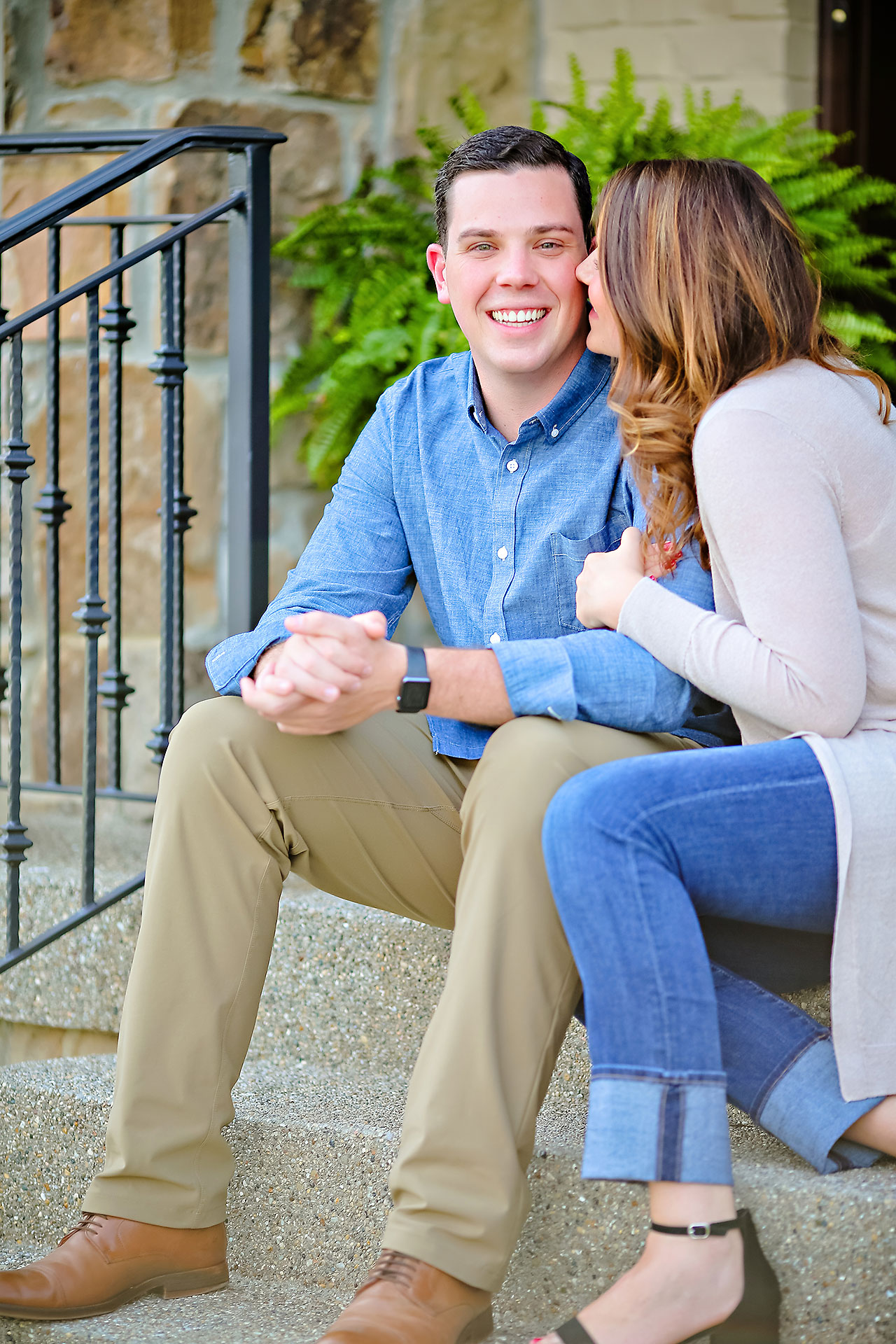 Emily JD Carmel Indiana Engagement Session 080
