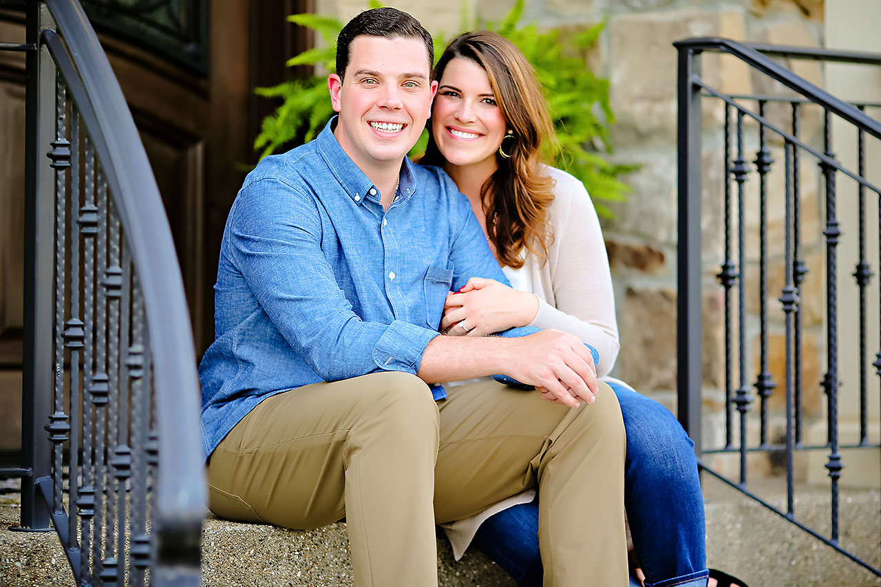 Emily JD Carmel Indiana Engagement Session 070