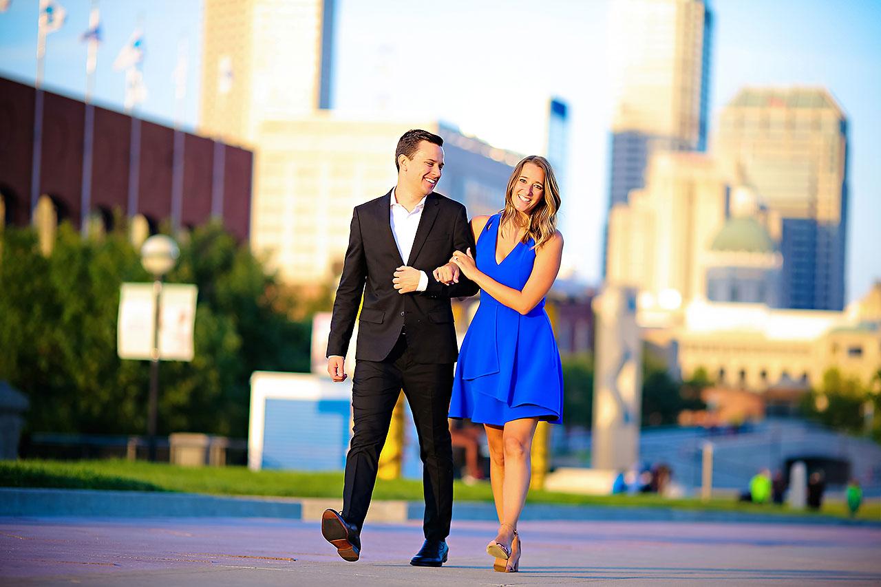 Kathleen Ben Downtown Indy Engagement 144