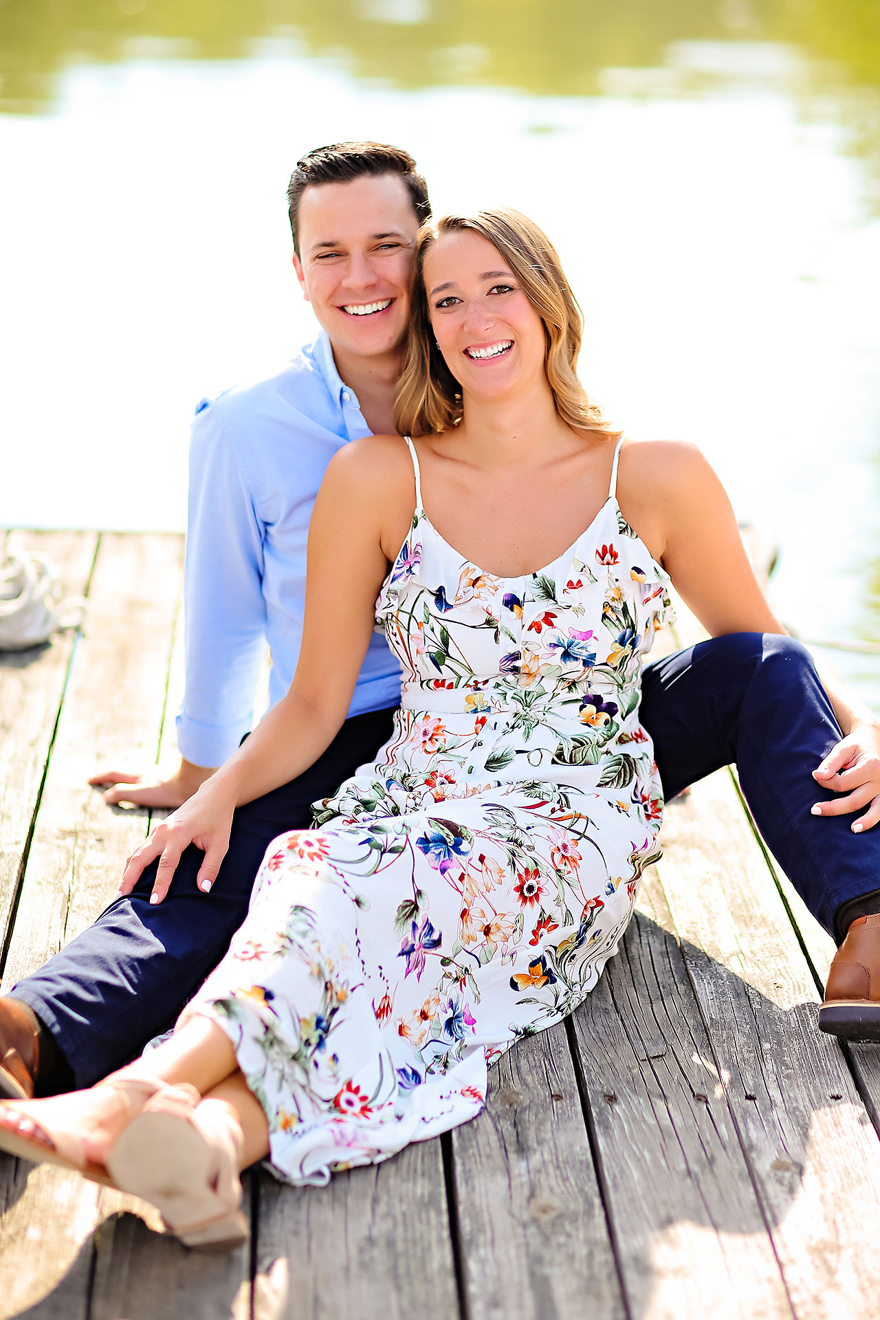 Kathleen Ben Downtown Indy Engagement 054