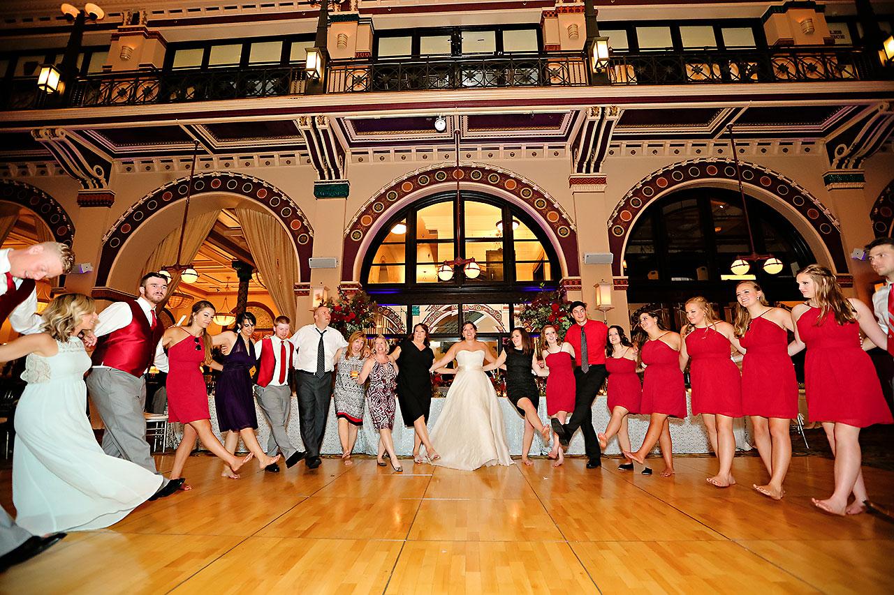 Diana Nick Crowne Plaza Indianapolis Wedding 352