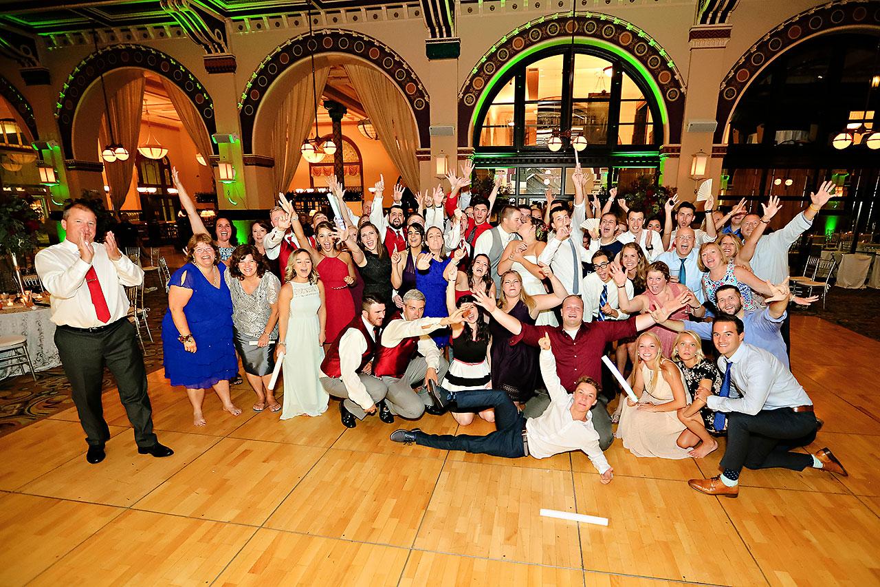 Diana Nick Crowne Plaza Indianapolis Wedding 354