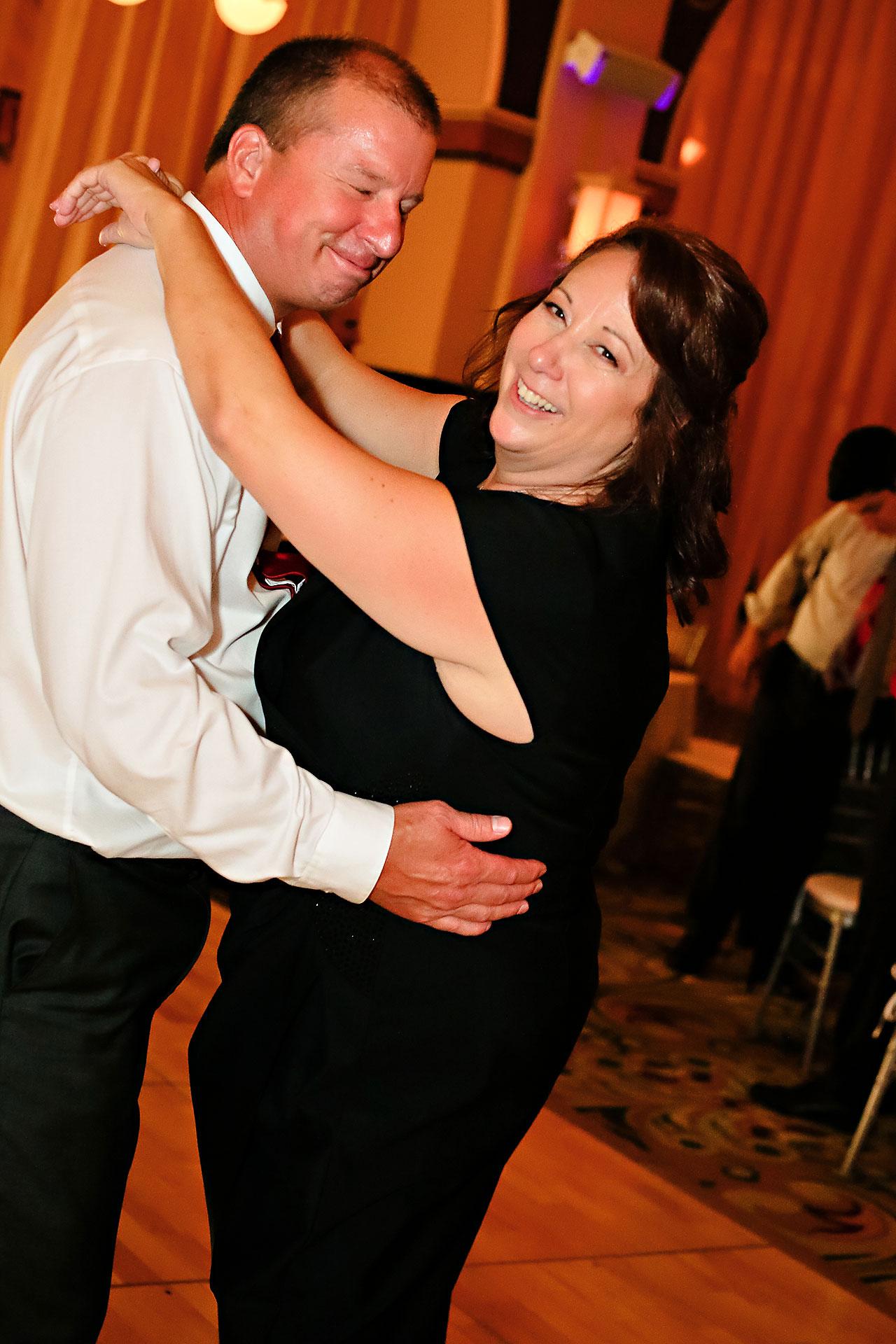 Diana Nick Crowne Plaza Indianapolis Wedding 346